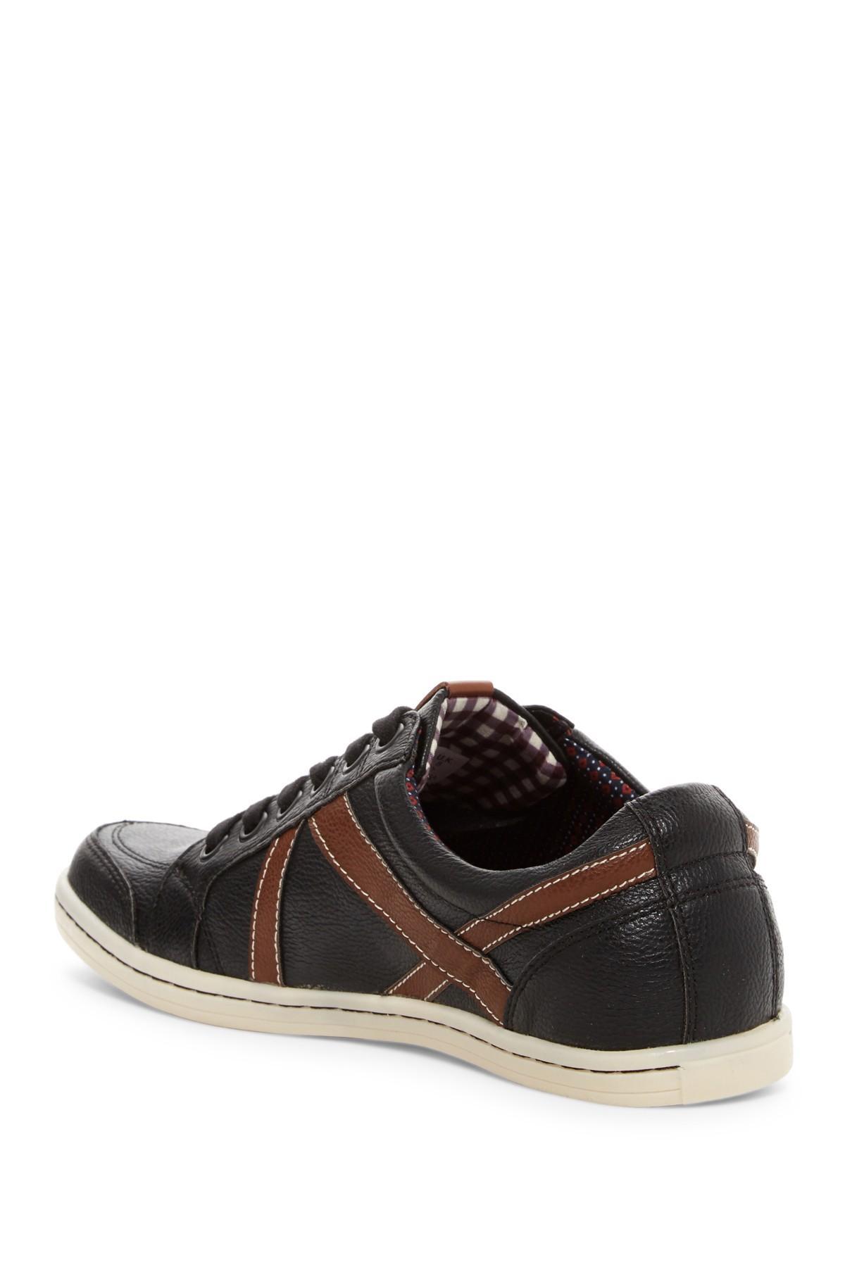lyst ben sherman knox sneaker in black for men