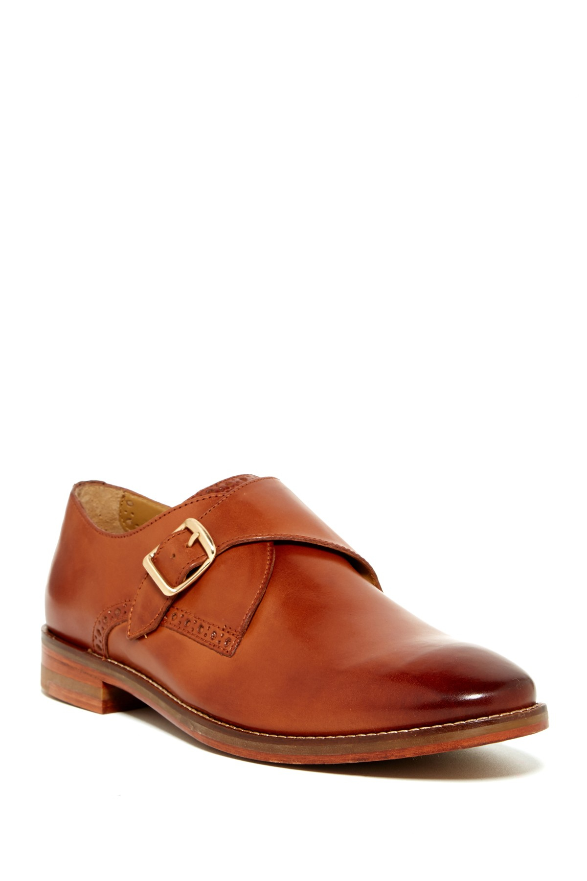 Cole haan Cambridge Double Monk-strap Shoes in Black for Men | Lyst