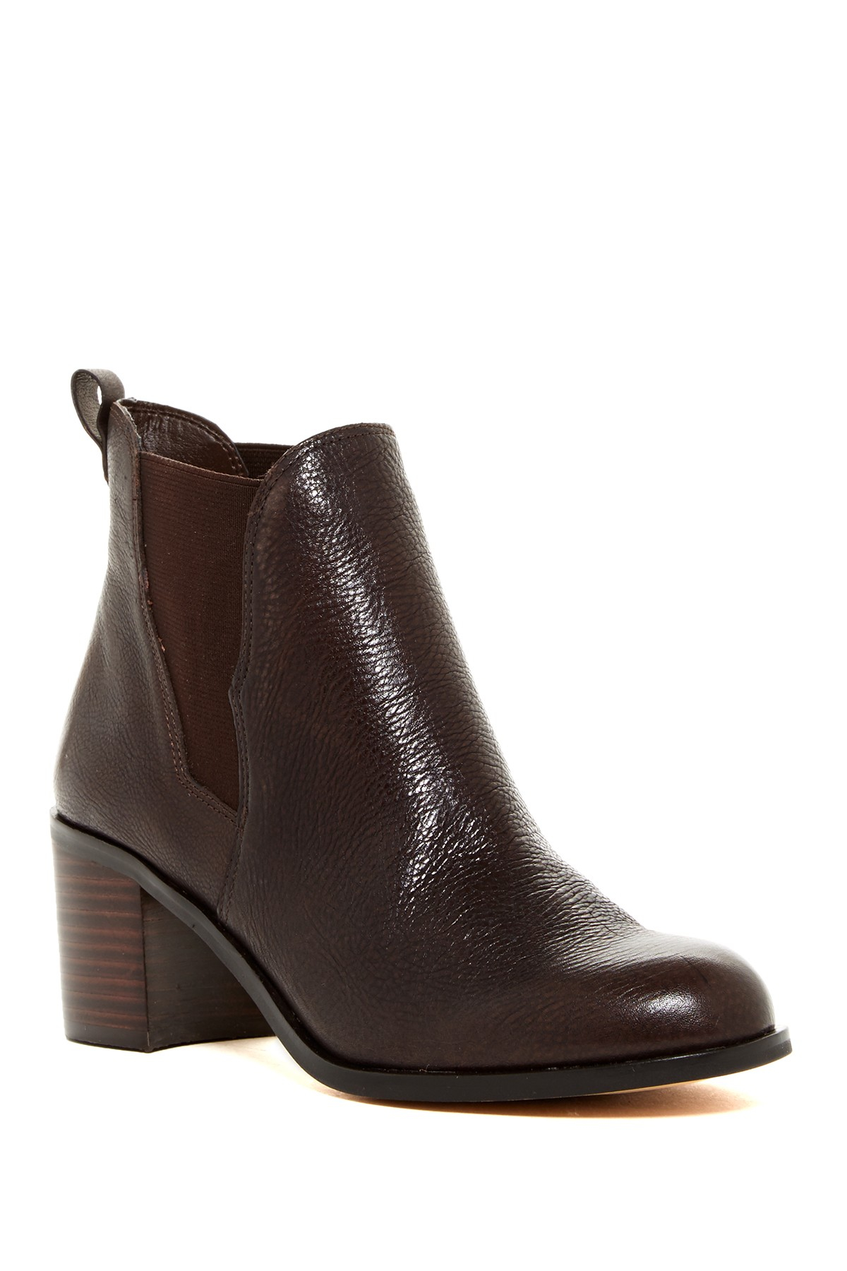 Lyst Sam Edelman Justin Leather Ankle Boots In Brown