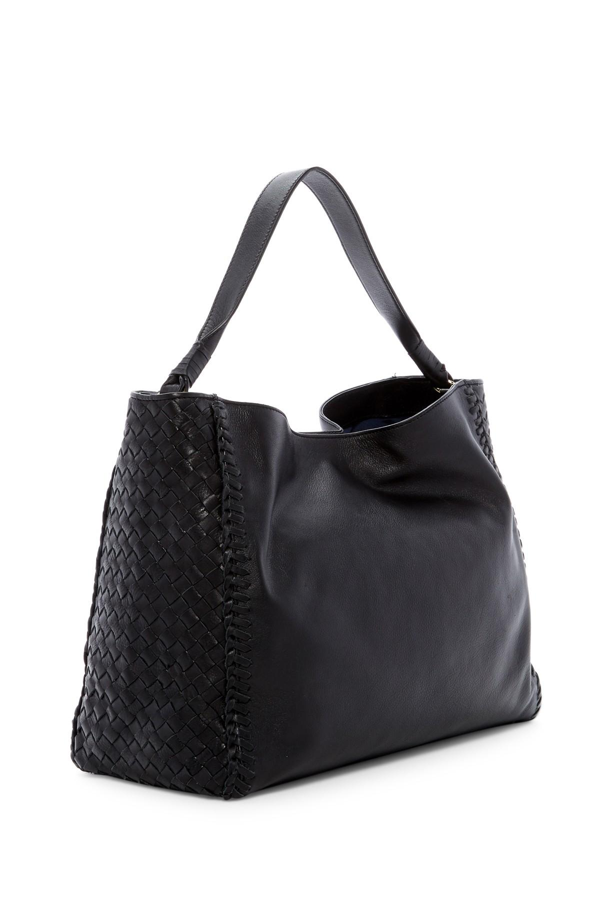 Lyst Cole Haan Dillan Leather Hobo In Black