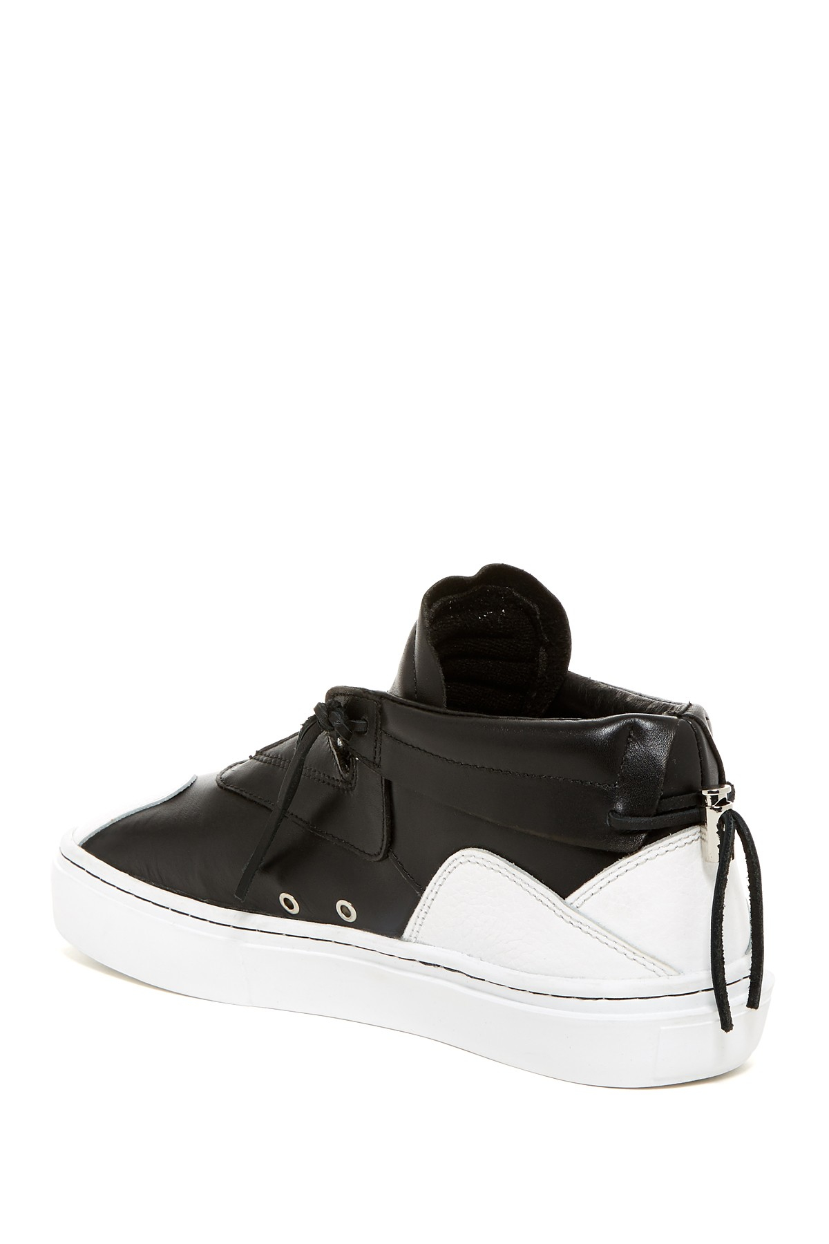 Clear Weather The Everest Mid Top Sneaker In Black For Men