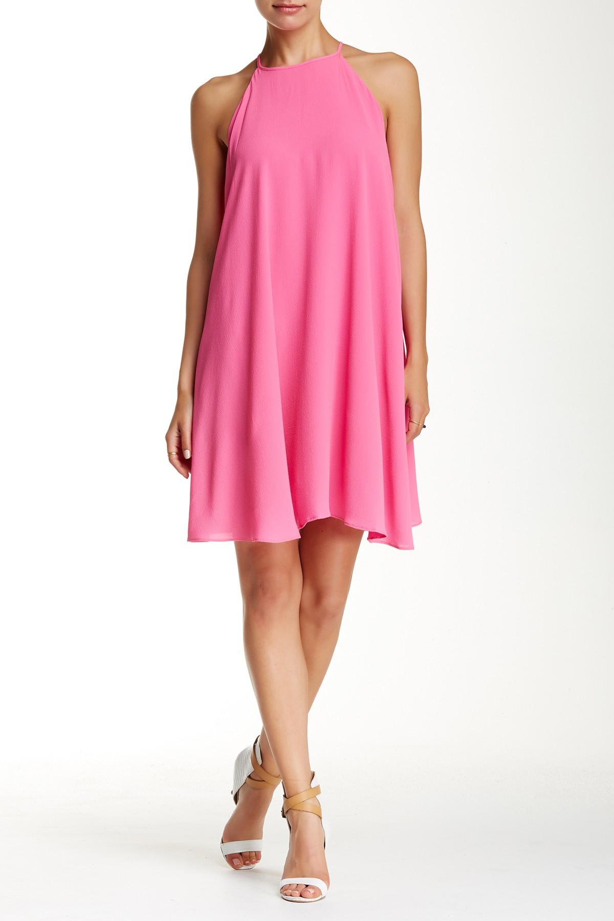 Alexia admor sleeveless summer dress in pink lyst for Nordstrom rack dresses pour mariage