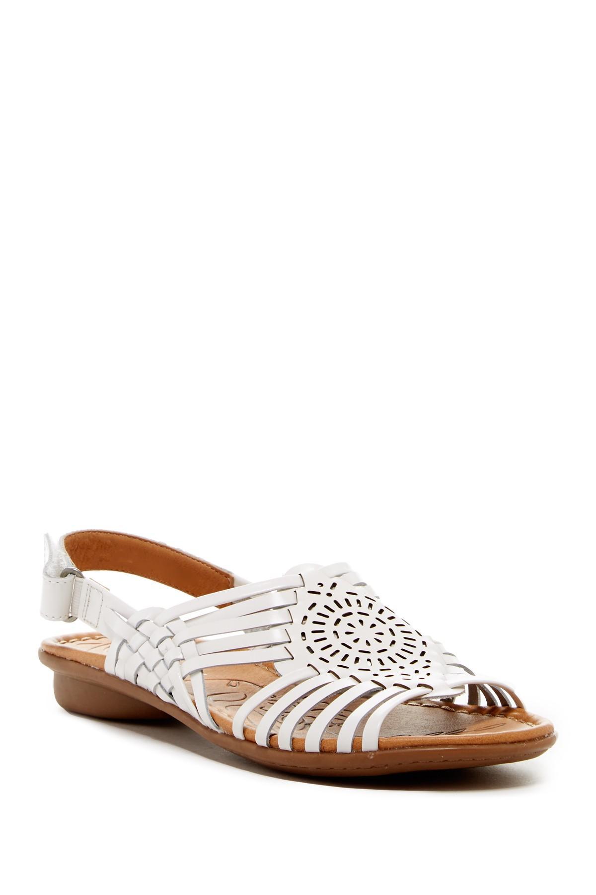 Lyst Naturalizer Wendy Huarache Sandal Wide Width