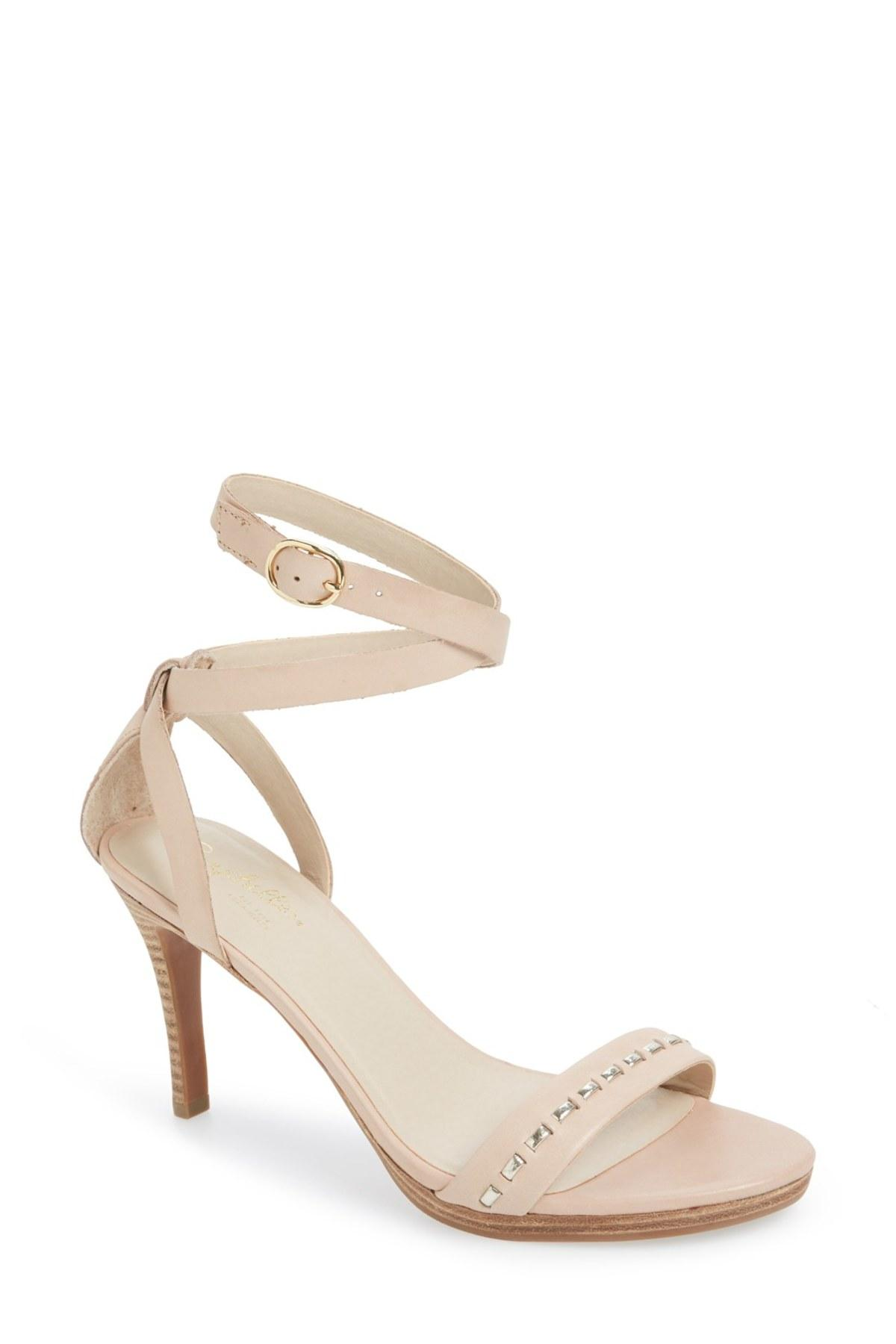 Lyst Seychelles Daring Ankle Strap Sandal In Natural
