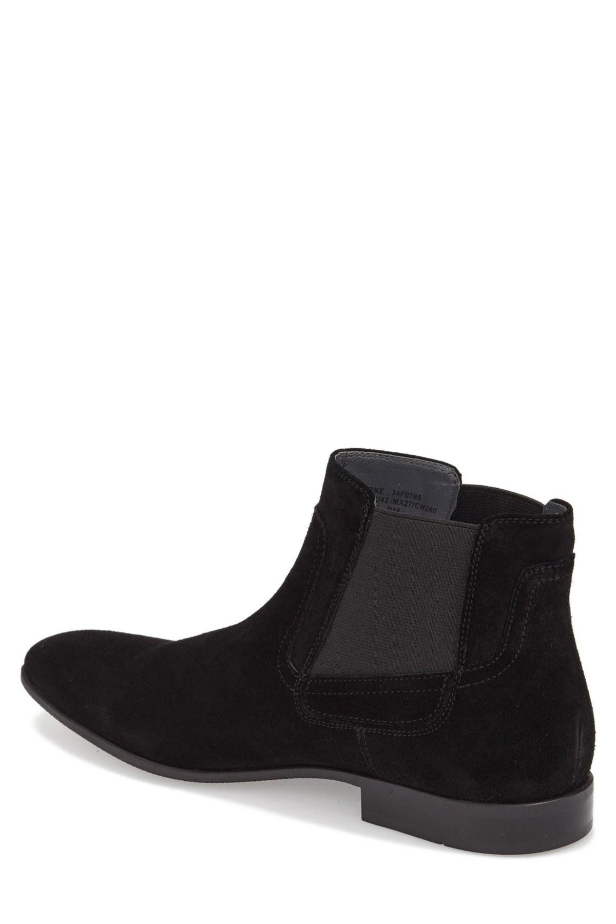 Calvin Klein Clarke Mid Chelsea Boot In Black For Men Lyst
