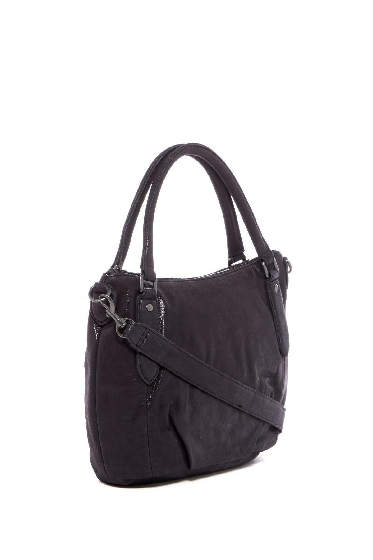liebeskind berlin gina leather satchel lyst. Black Bedroom Furniture Sets. Home Design Ideas