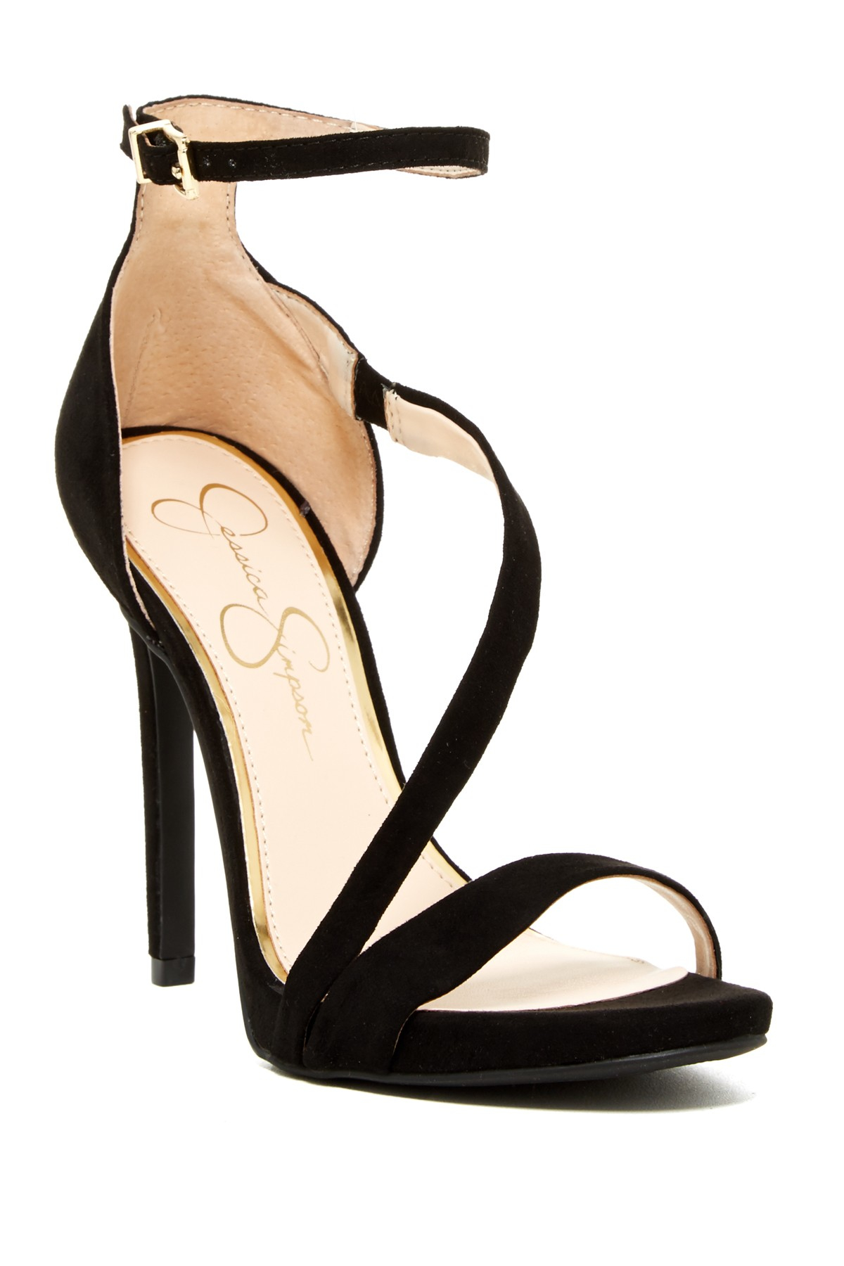 Lyst Jessica Simpson Reda High Heel Sandal In Black