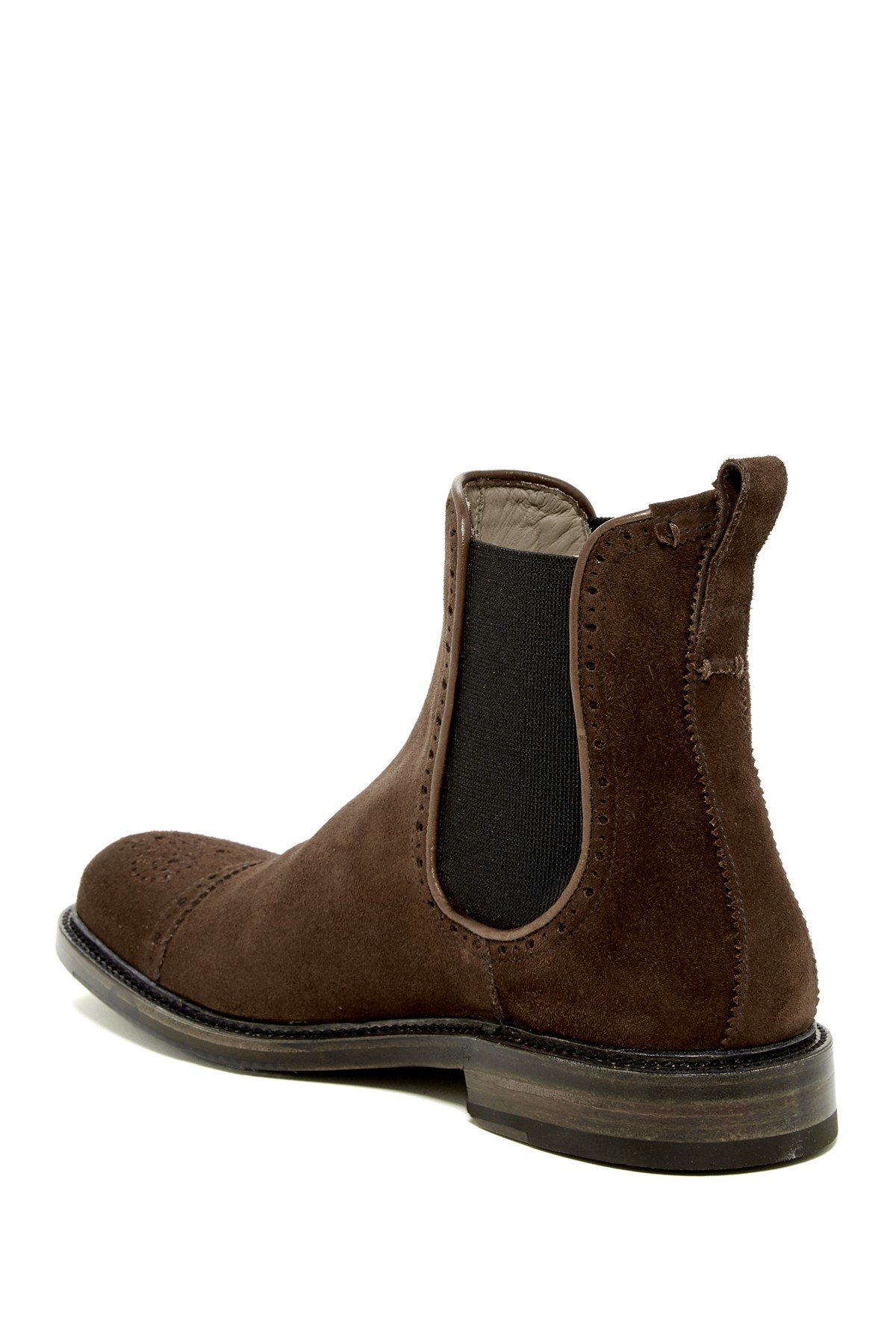 Aquatalia Freddy Weatherproof Chelsea Boot In Brown For