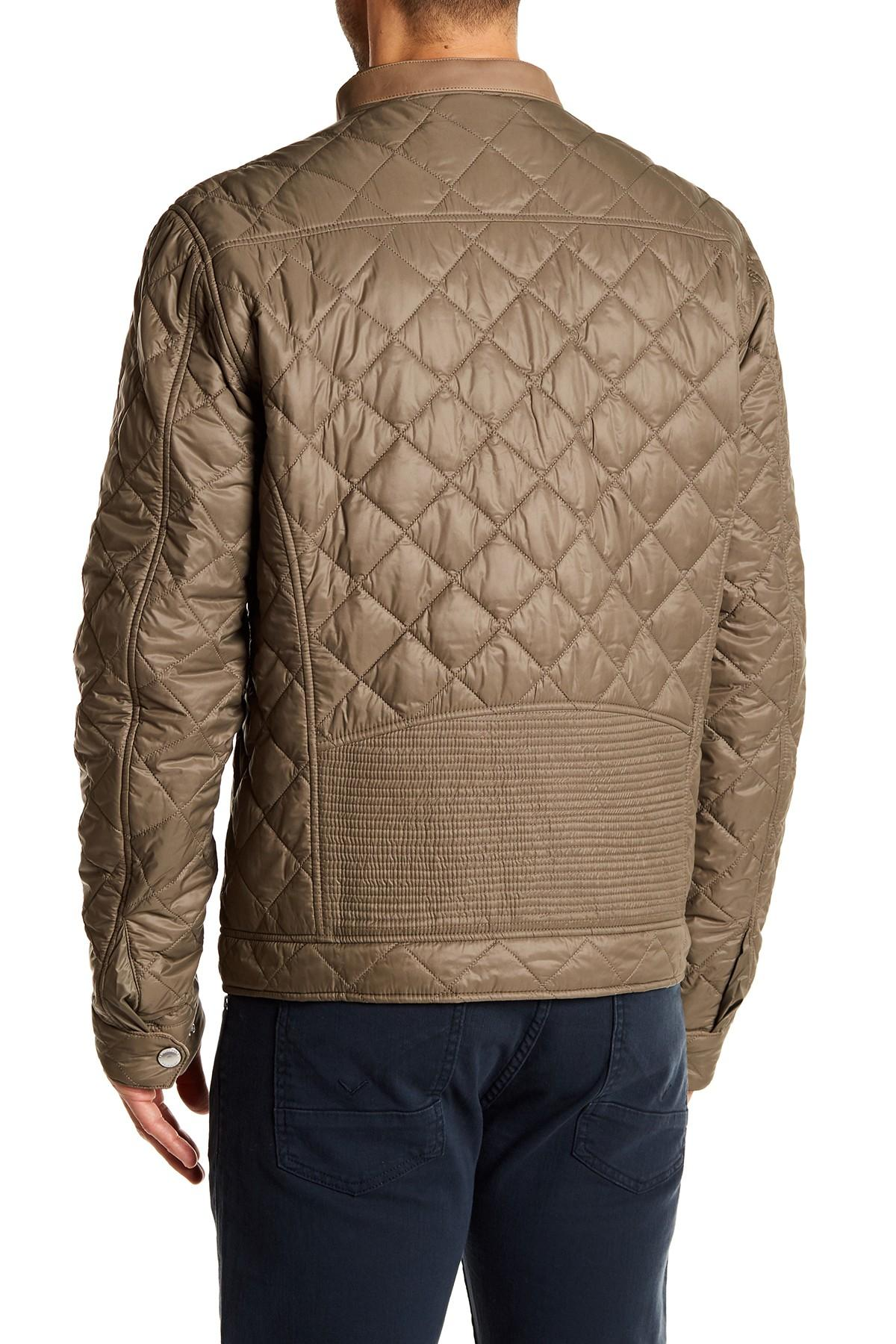 Exhibition Shell Jacket : Lyst barbour exhibition quilted jacket with genuine