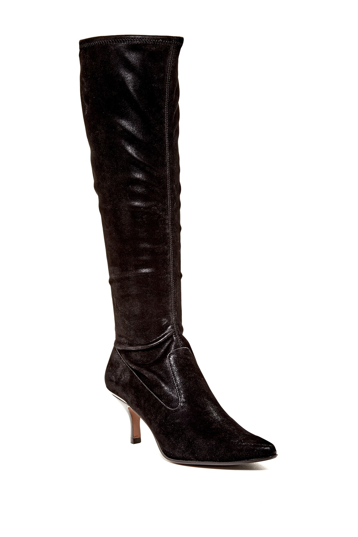 Donald J Pliner Nelly High Boot In Black Lyst