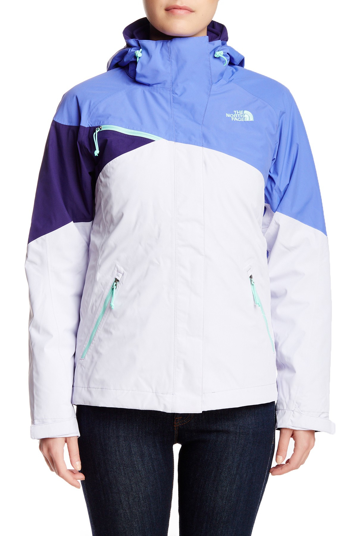bc82b5d72 The North Face Blue Cinnabar Triclimate Jacket