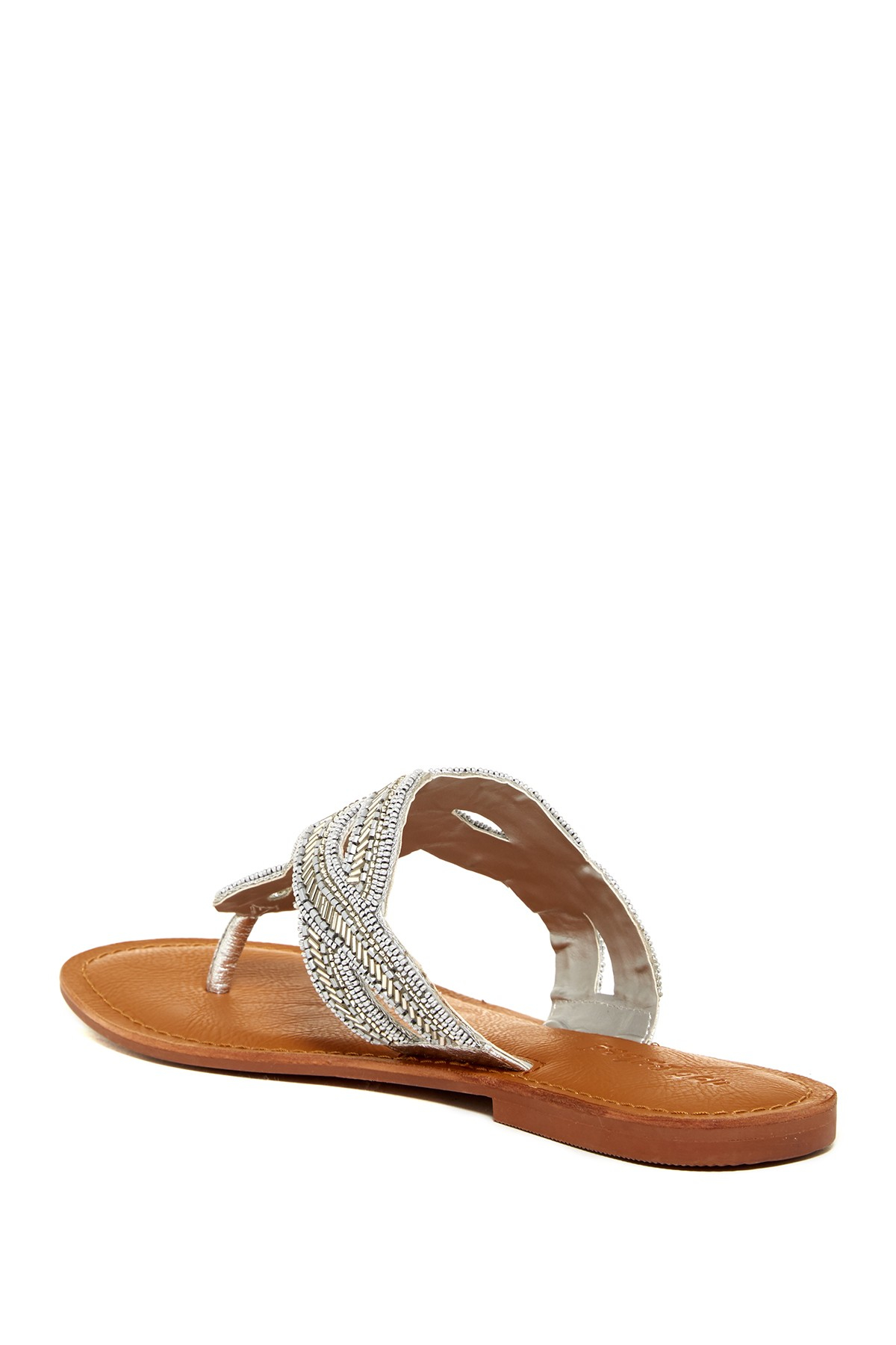 Lyst Not Rated Shark Bay Sandal In Metallic