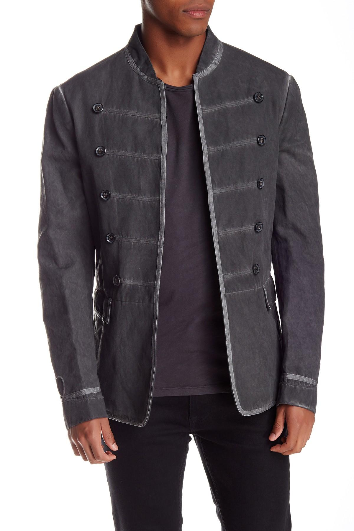 Lyst John Varvatos Artisan Deco Jacket In Black For Men