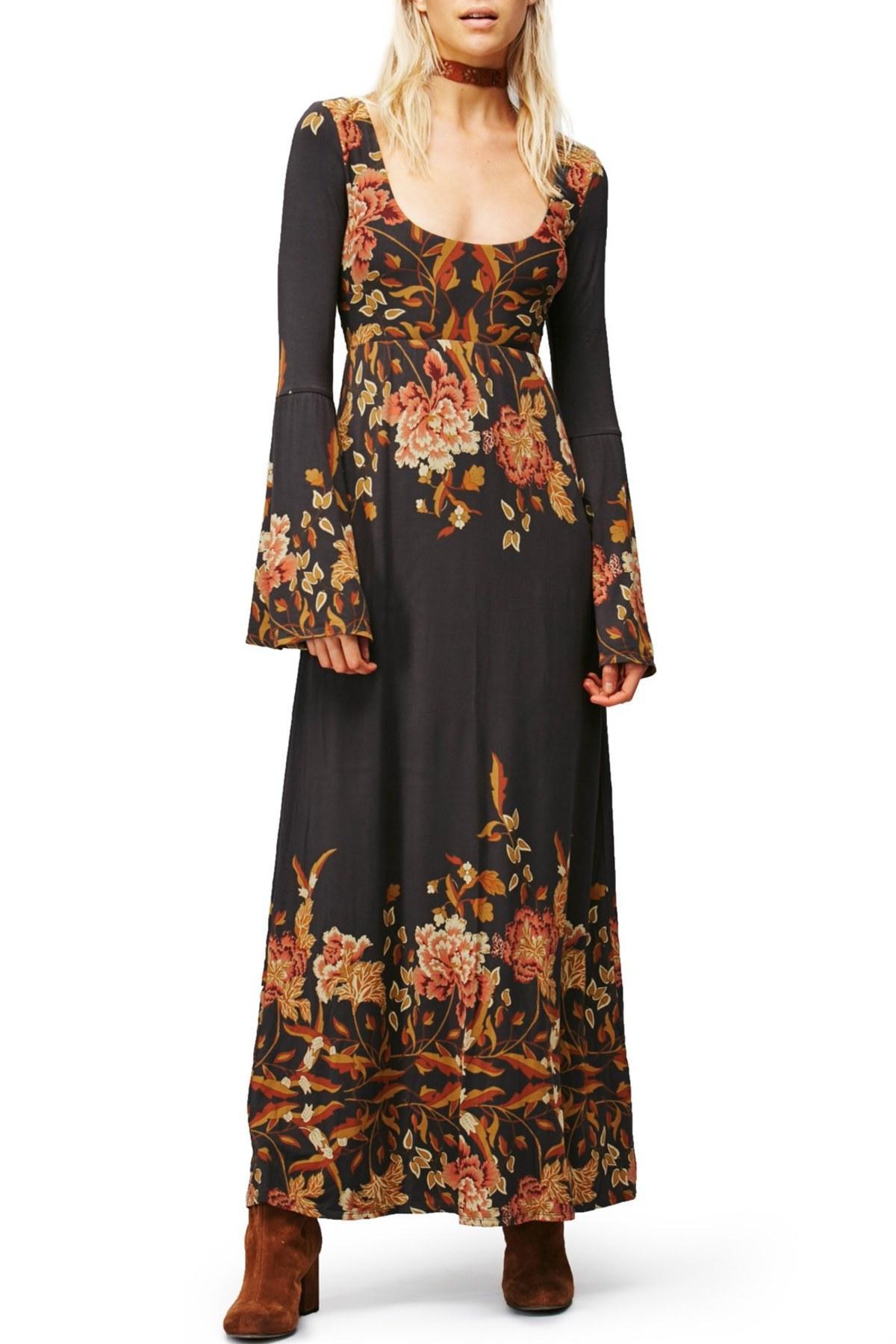 Lyst Free People Midnight Garden Maxi Dress