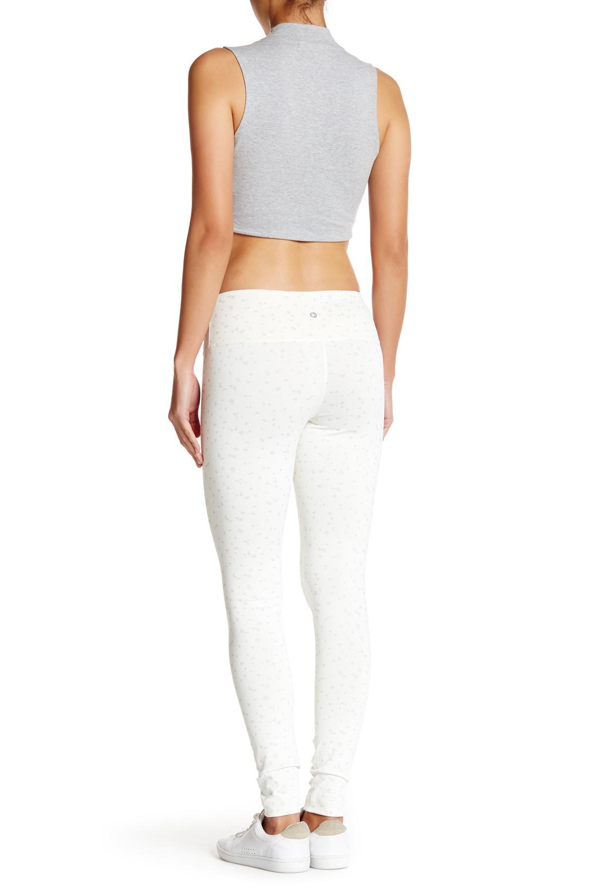 Lyst 90 Degree By Reflex Patterned Legging In White