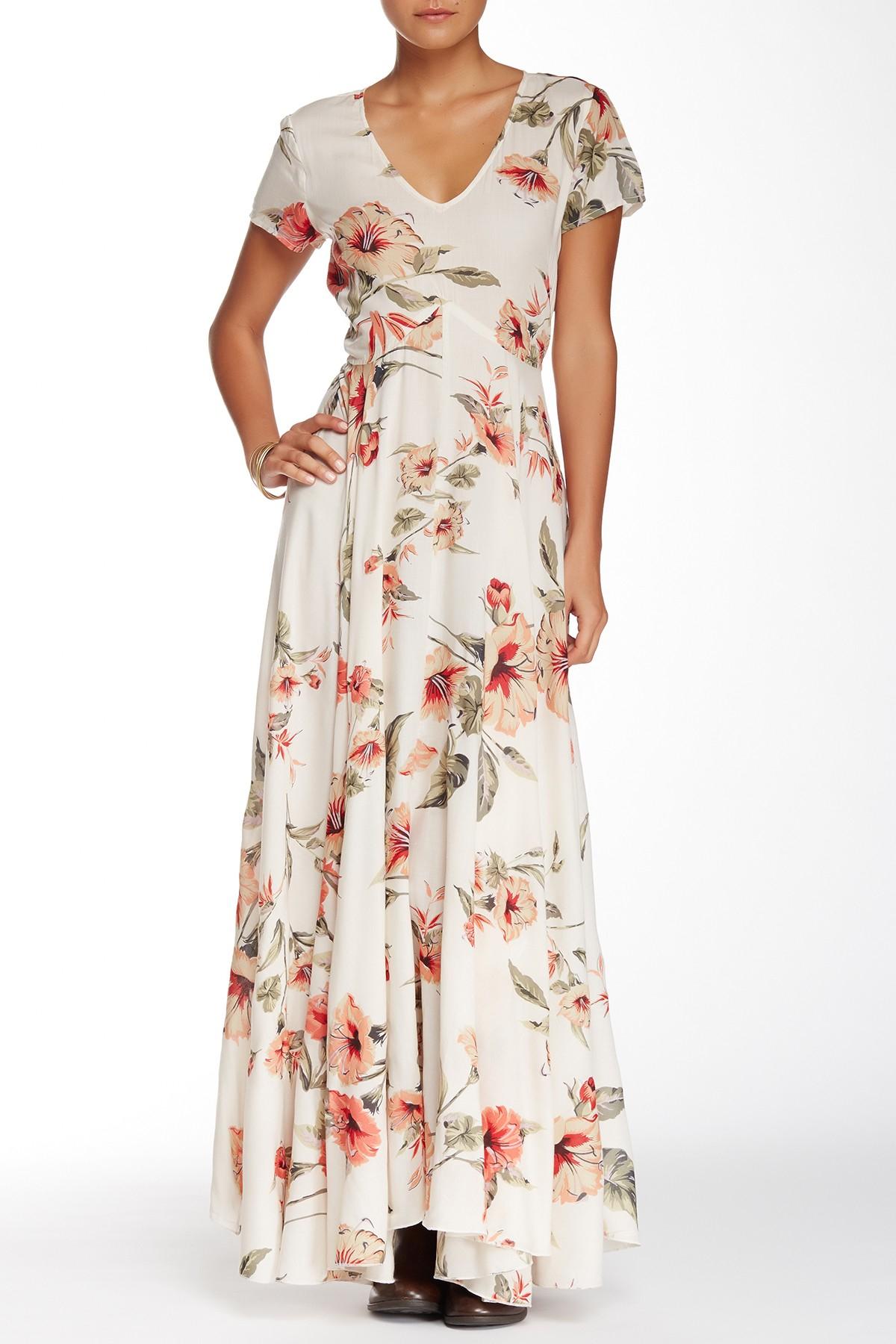 016199ce3d7 Lyst - Raga Tropical Getaway Maxi Dress