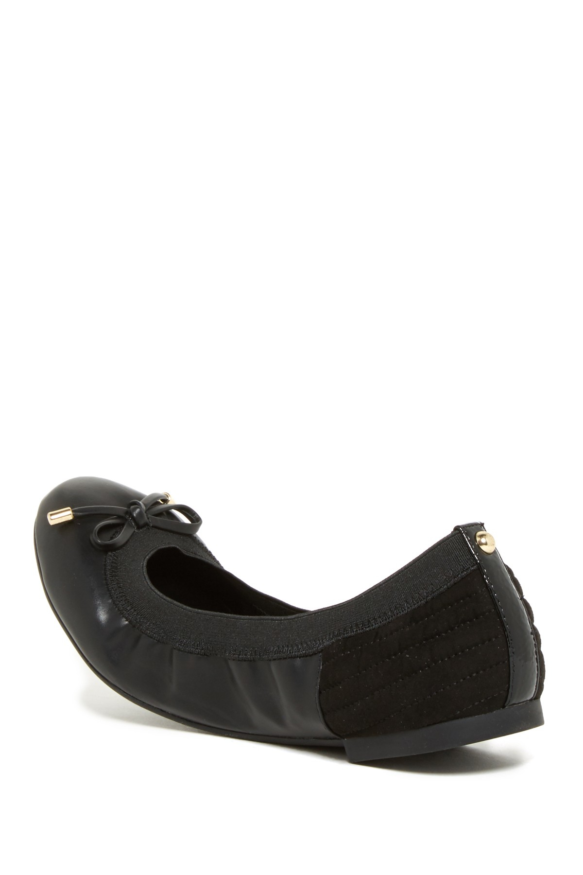 Lyst Aldo Roero Ballet Flat In Black