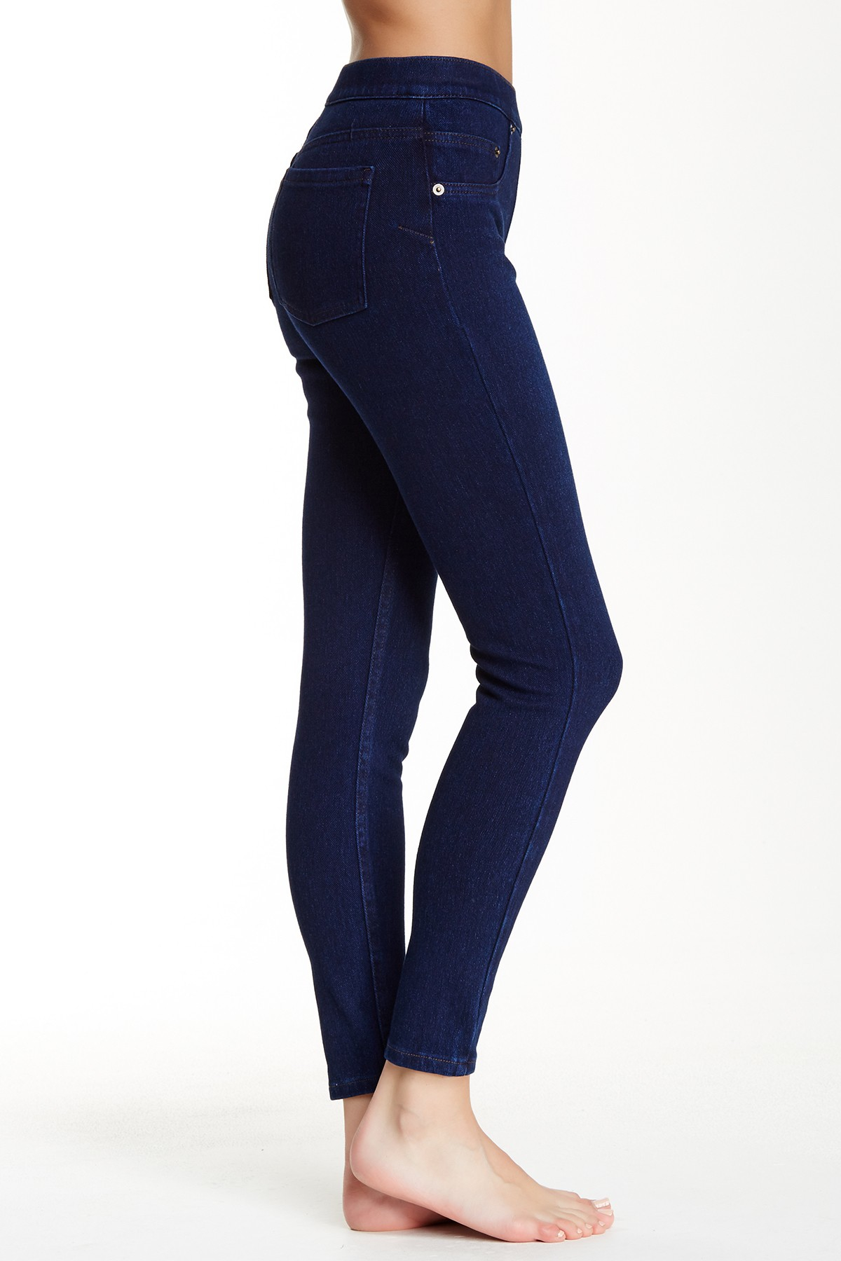 Spanx Cropped Denim Legging in Blue