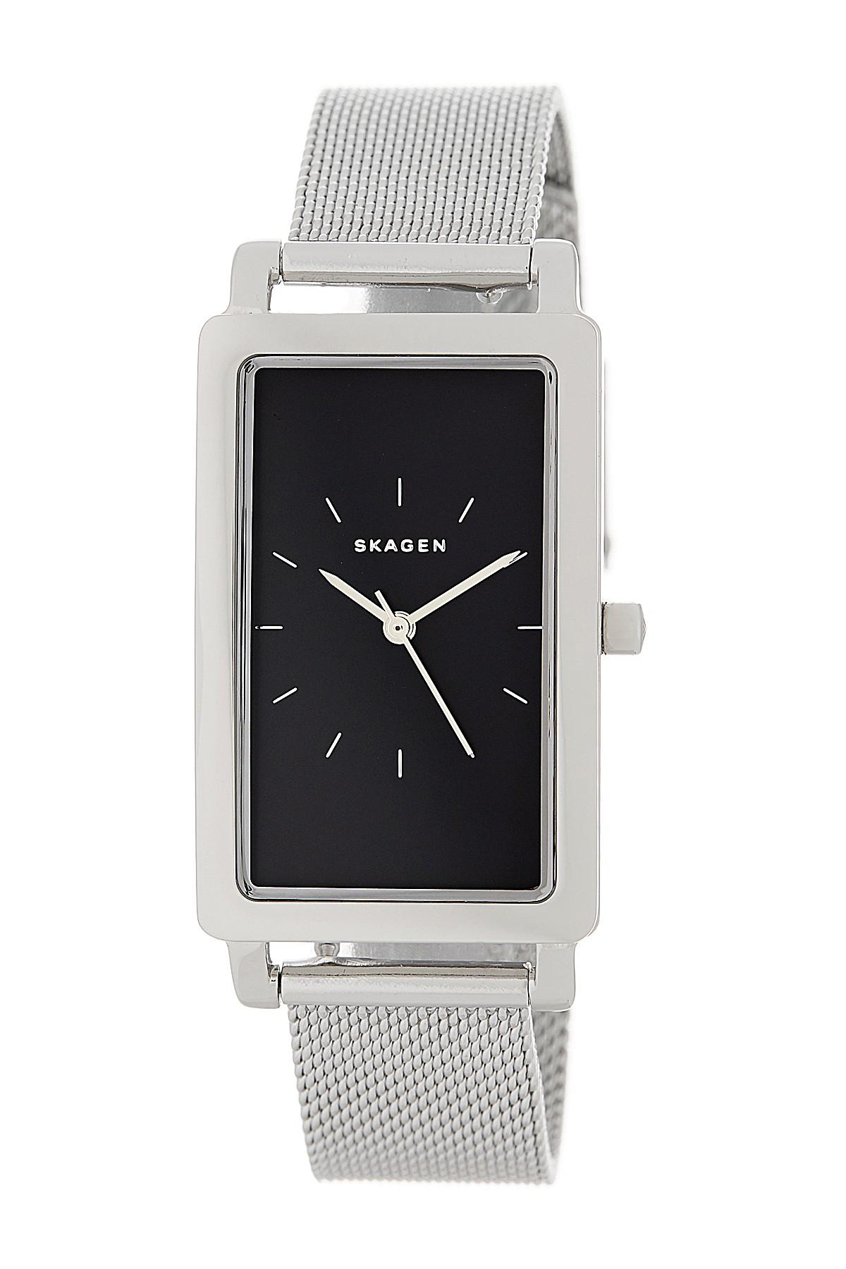 skagen dial women crystallized watches youtube ancher s watch hagen brown