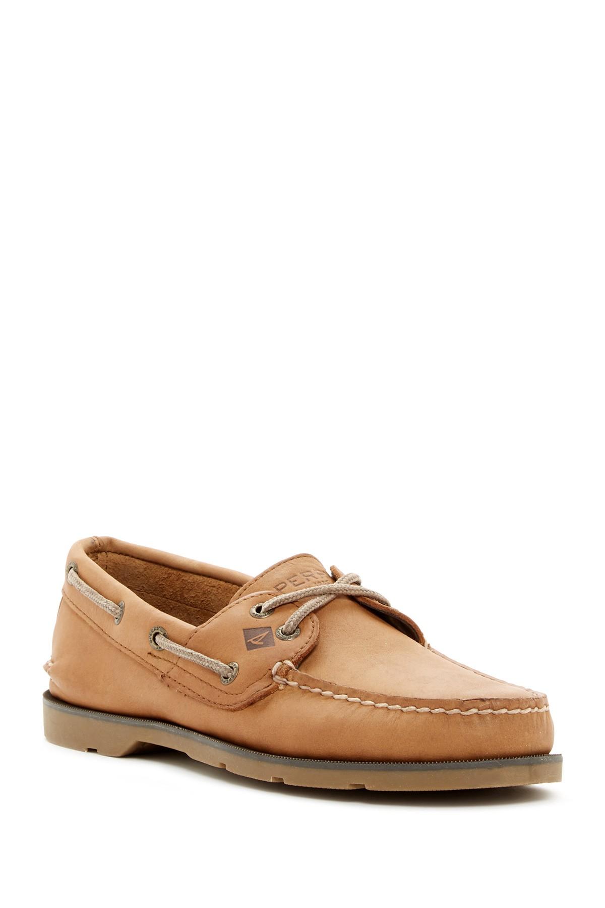 Sperry Cross Lace Boat Shoe