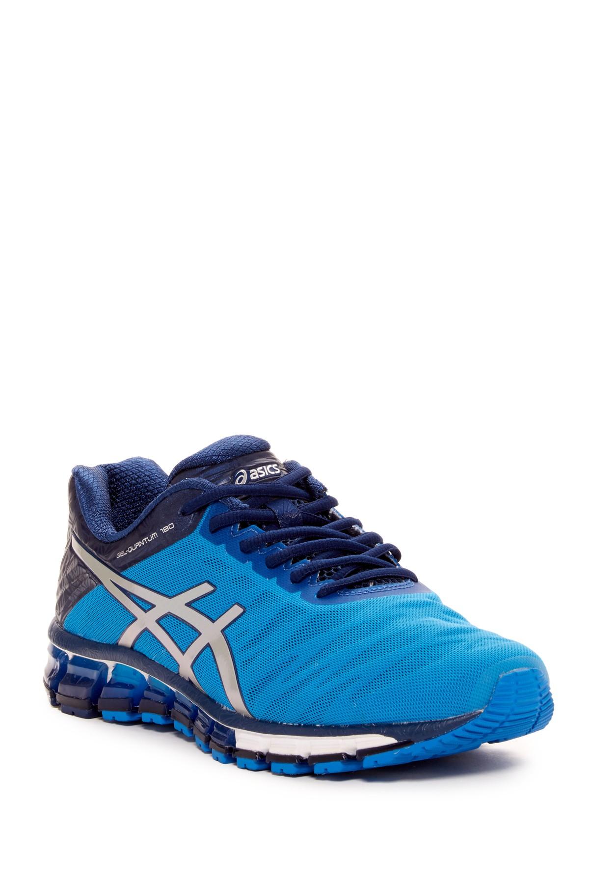 Asics Quantum  Blue Running Shoes