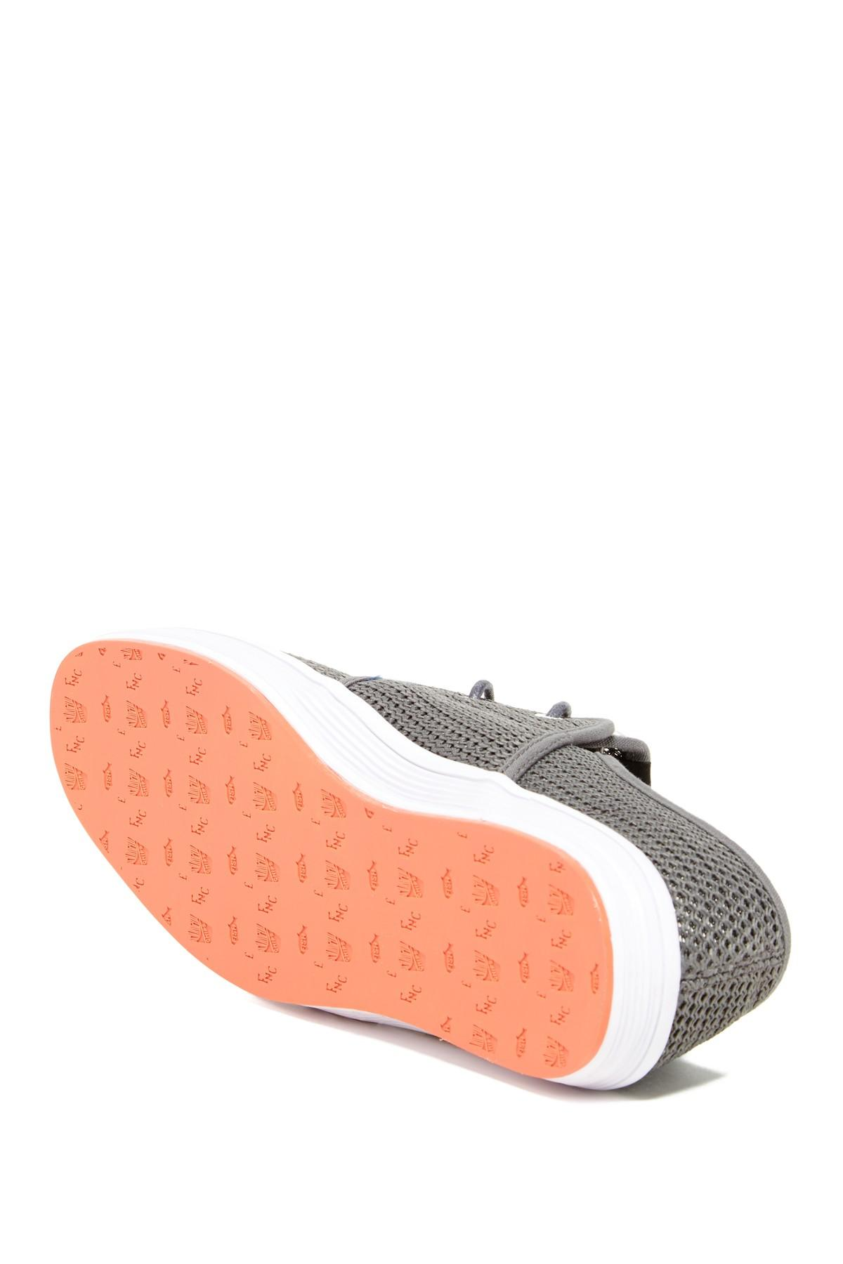 Fish n chips spam 2 mesh sneaker in gray for men lyst for Fish and chips shoes