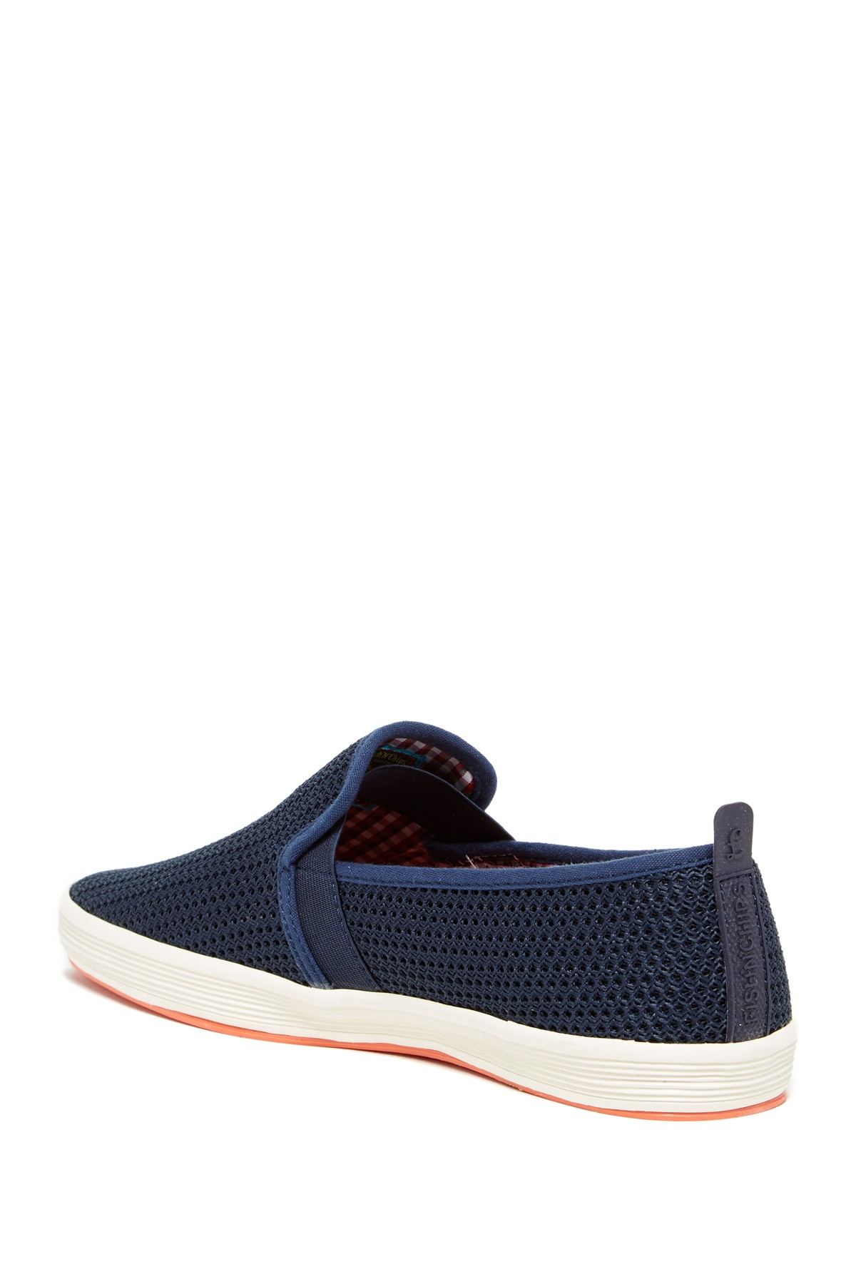 Fish n chips fry 2 mesh slip on in blue for men lyst for Fish and chips shoes