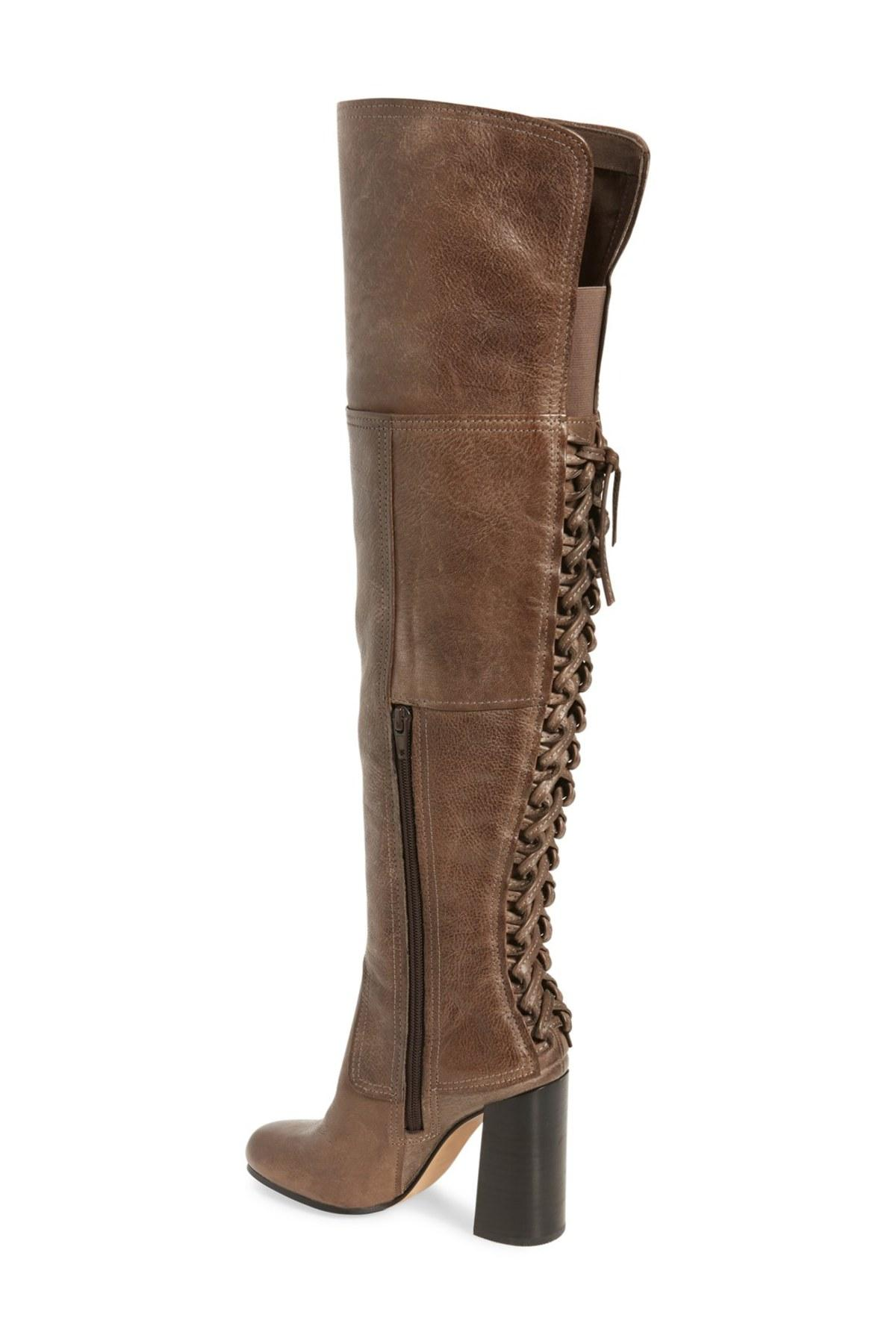 Lyst Vince Camuto Tolla Over The Knee Boot Women In Gray