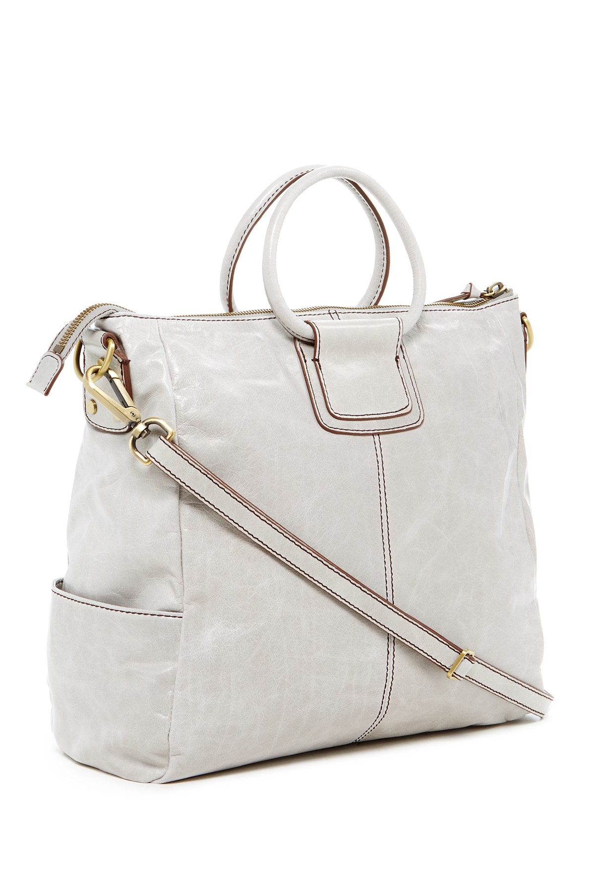 Hobo Sheila Leather Top Handle Tote Lyst