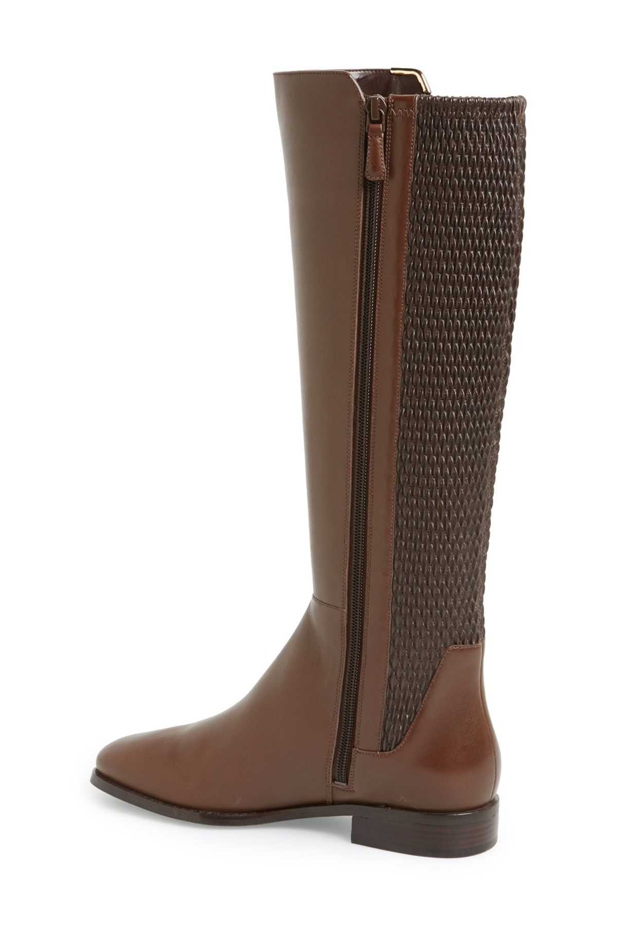 cole haan rockland tall boot in brown lyst