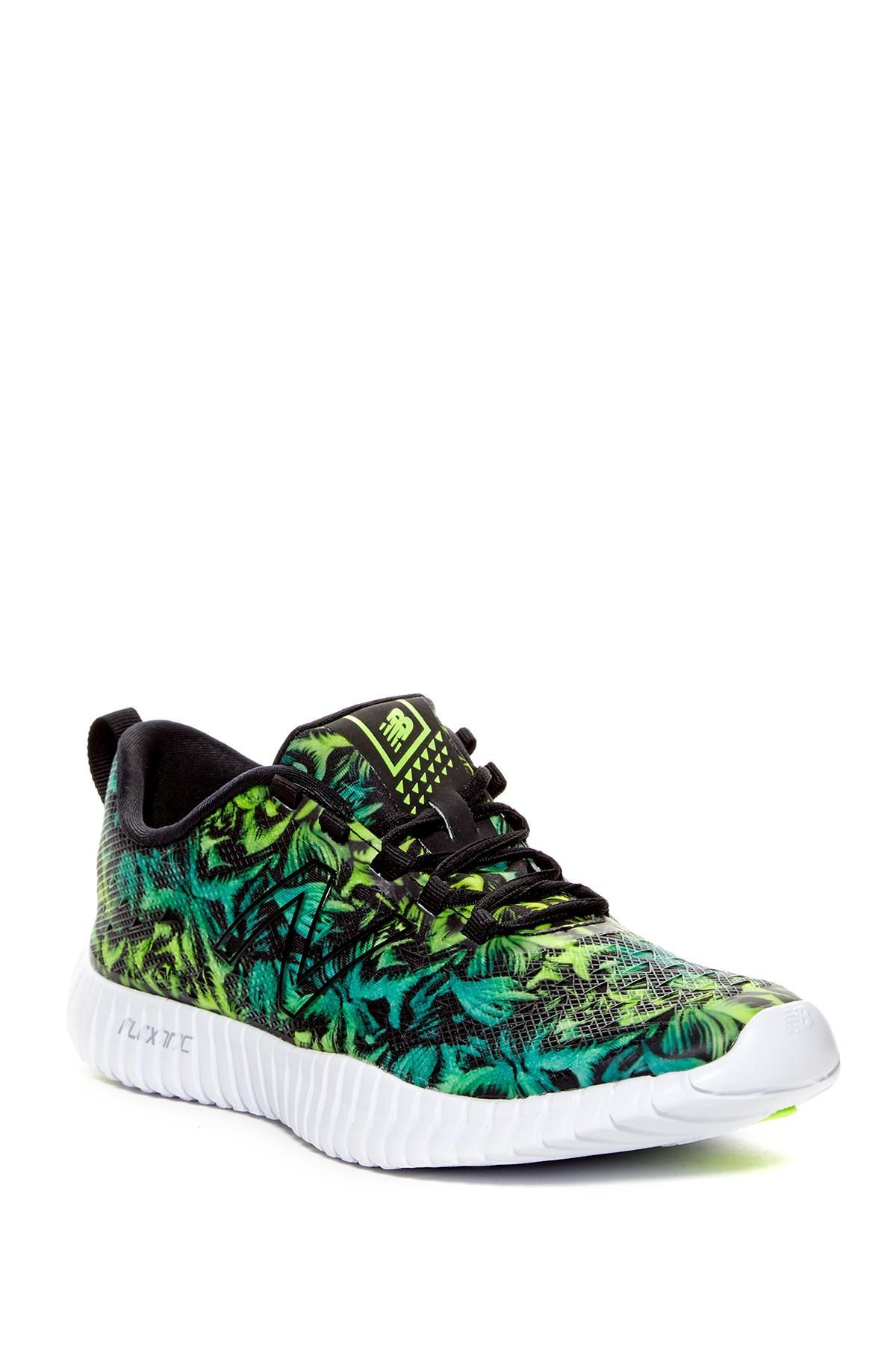 NEW New Balance Womens Flexonic WX99WG Shoe Blue Green Nature Pattern All Sizes