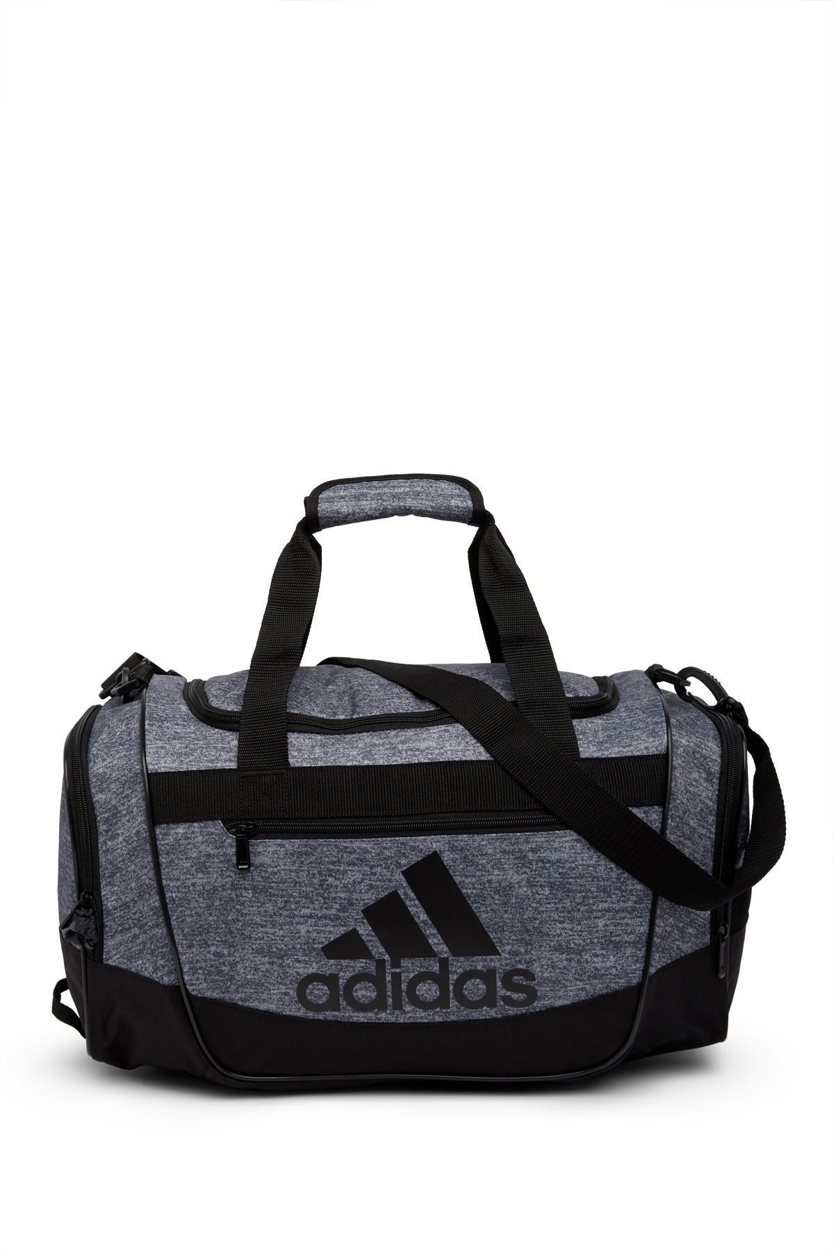 adidas Synthetic Defender Iii Small Duffel (onix Jersey/black ...