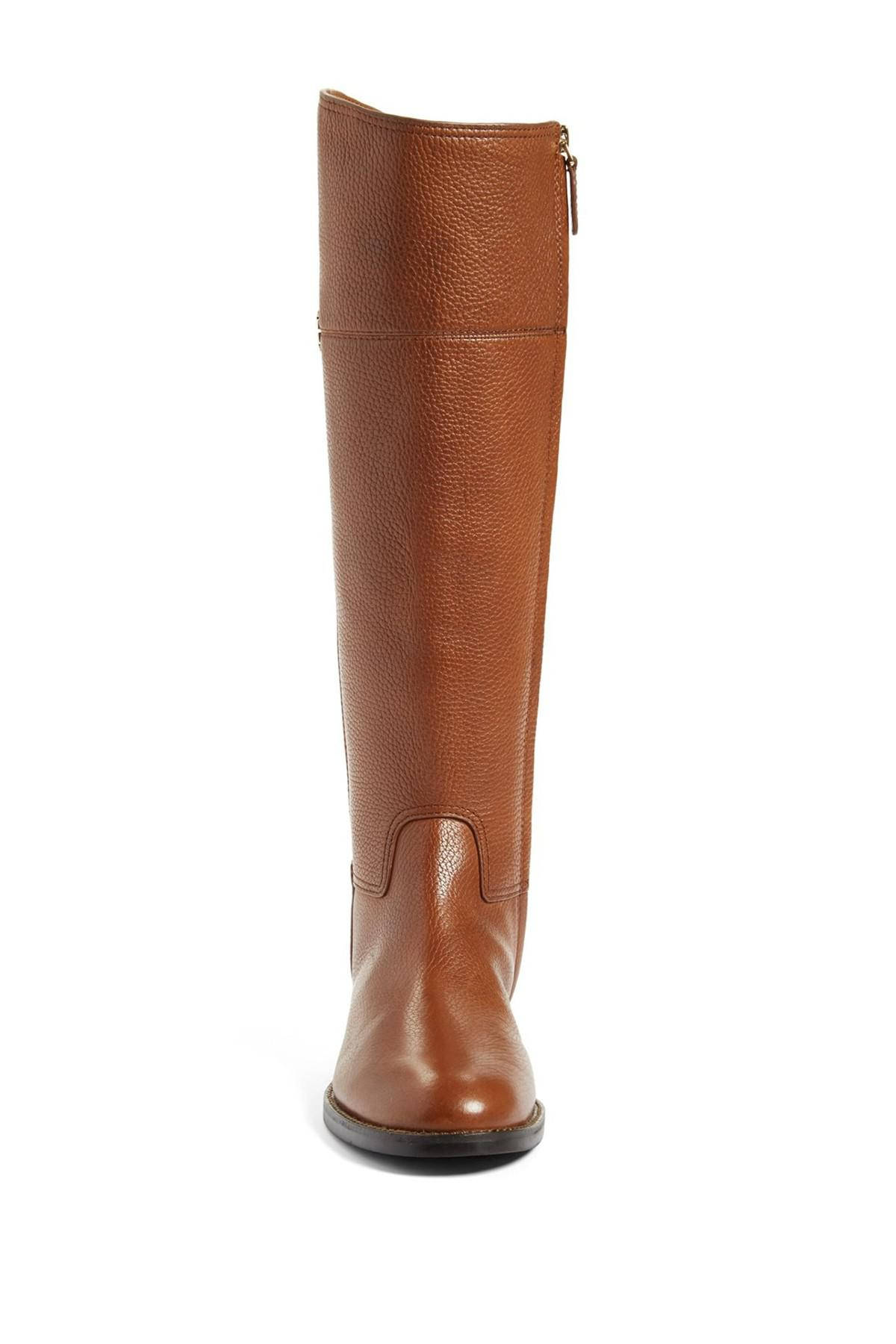 967bac51430 Lyst - Tory Burch Jolie Riding Boot in Brown