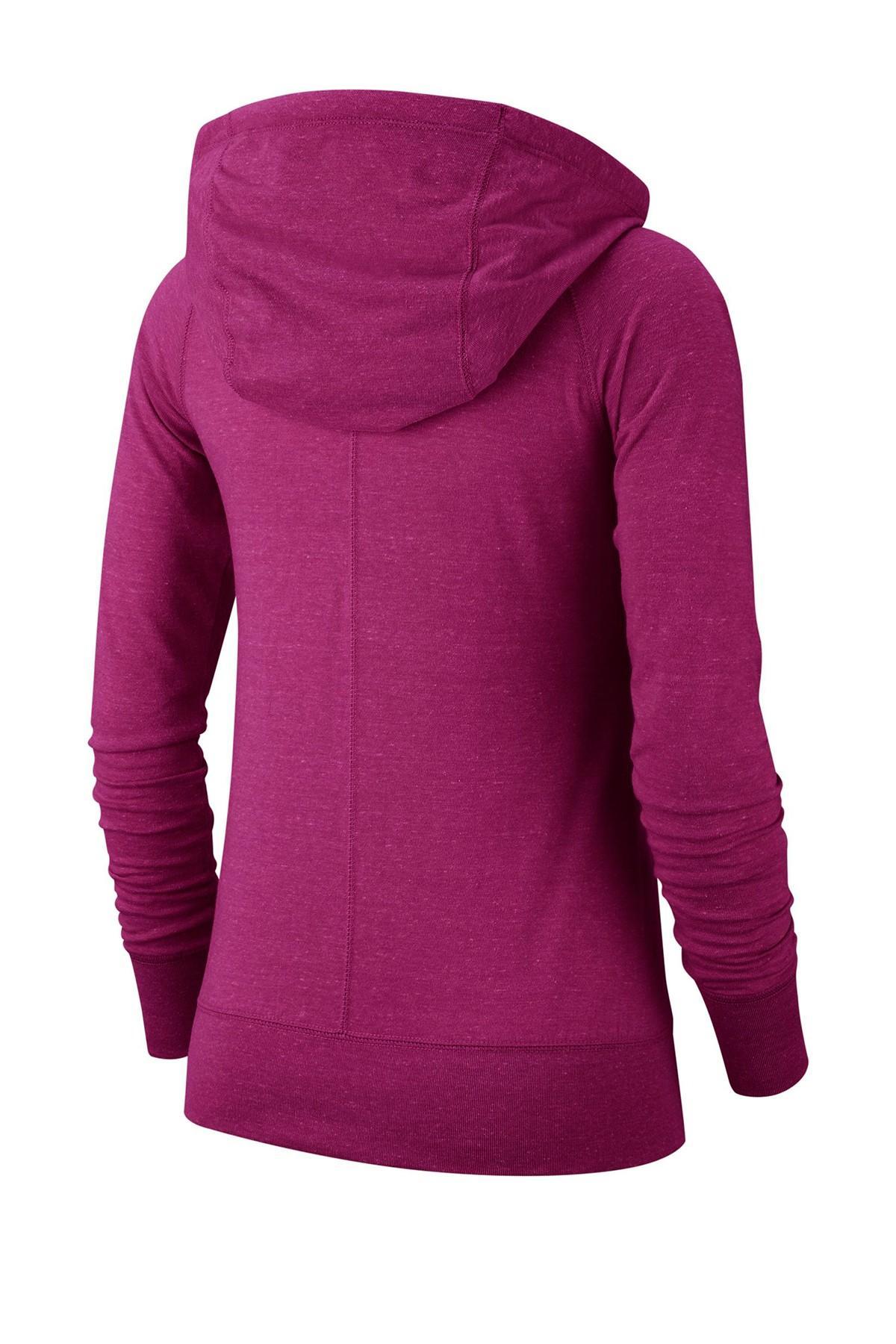 97a3cca418 Nike - Purple Vintage Drawstring Hoodie - Lyst. View fullscreen