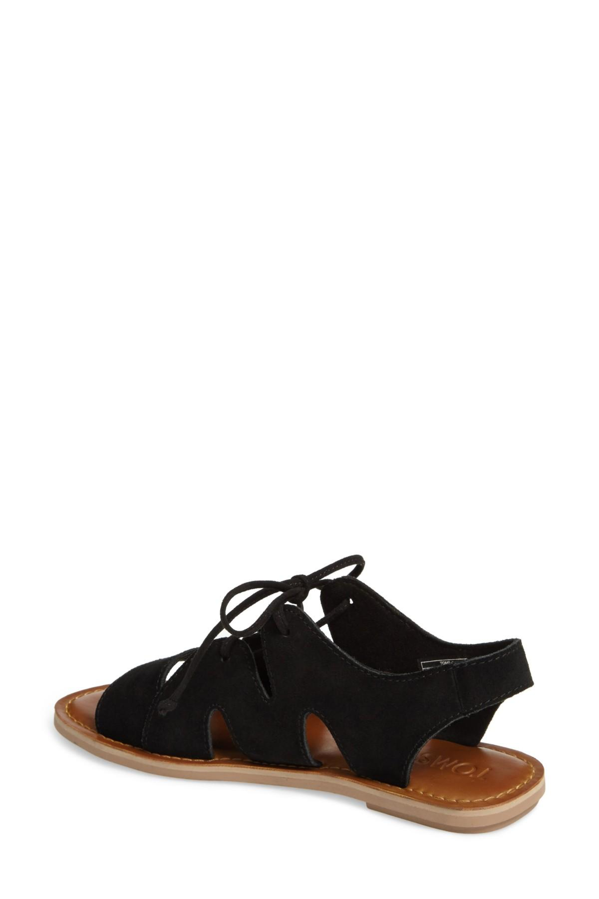 c33bbff232b8 Lyst - TOMS Calips Sandal in Black - Save 22.727272727272734%