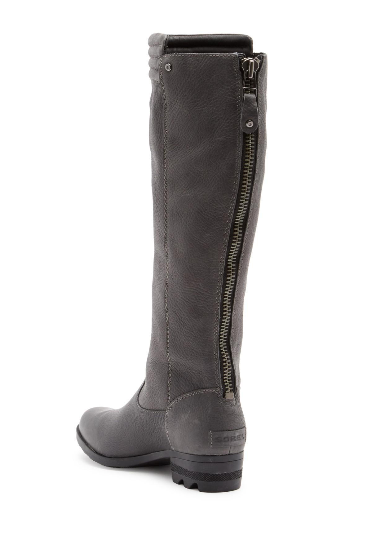Sorel Danica Tall Waterproof Leather