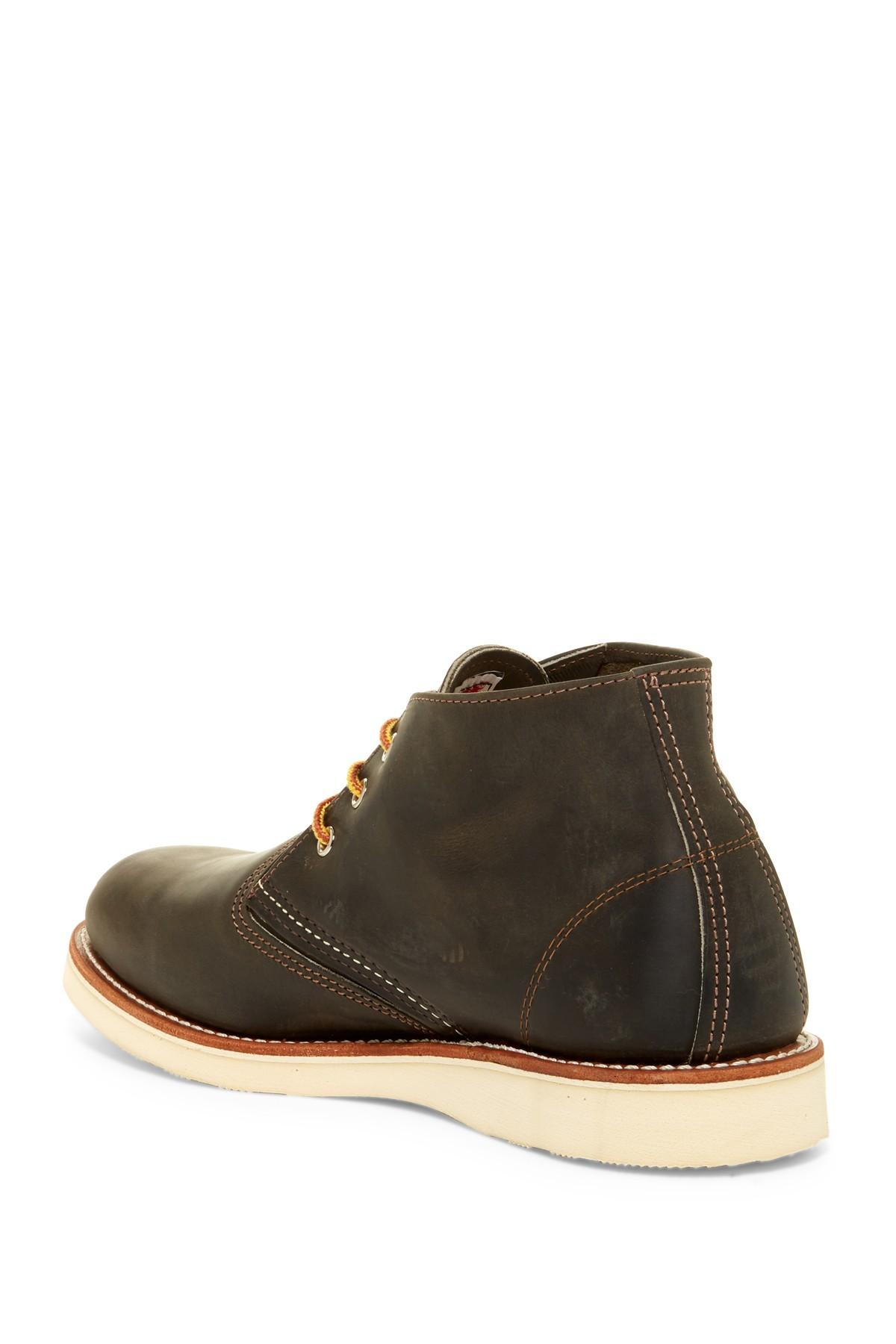 Red Wing Leather Work Chukka Boot