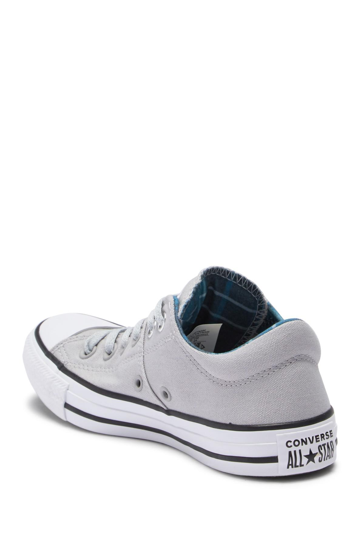 b147129b50ad Converse - Gray Chuck Taylor All Star Madison Oxford Sneaker (women) -  Lyst. View fullscreen