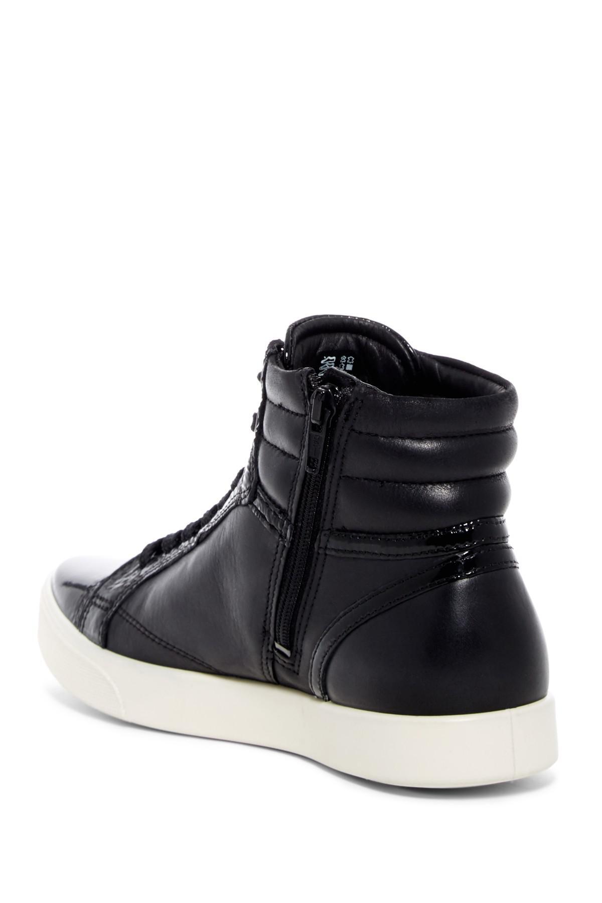 Ecco Gillian High-top Leather Sneaker