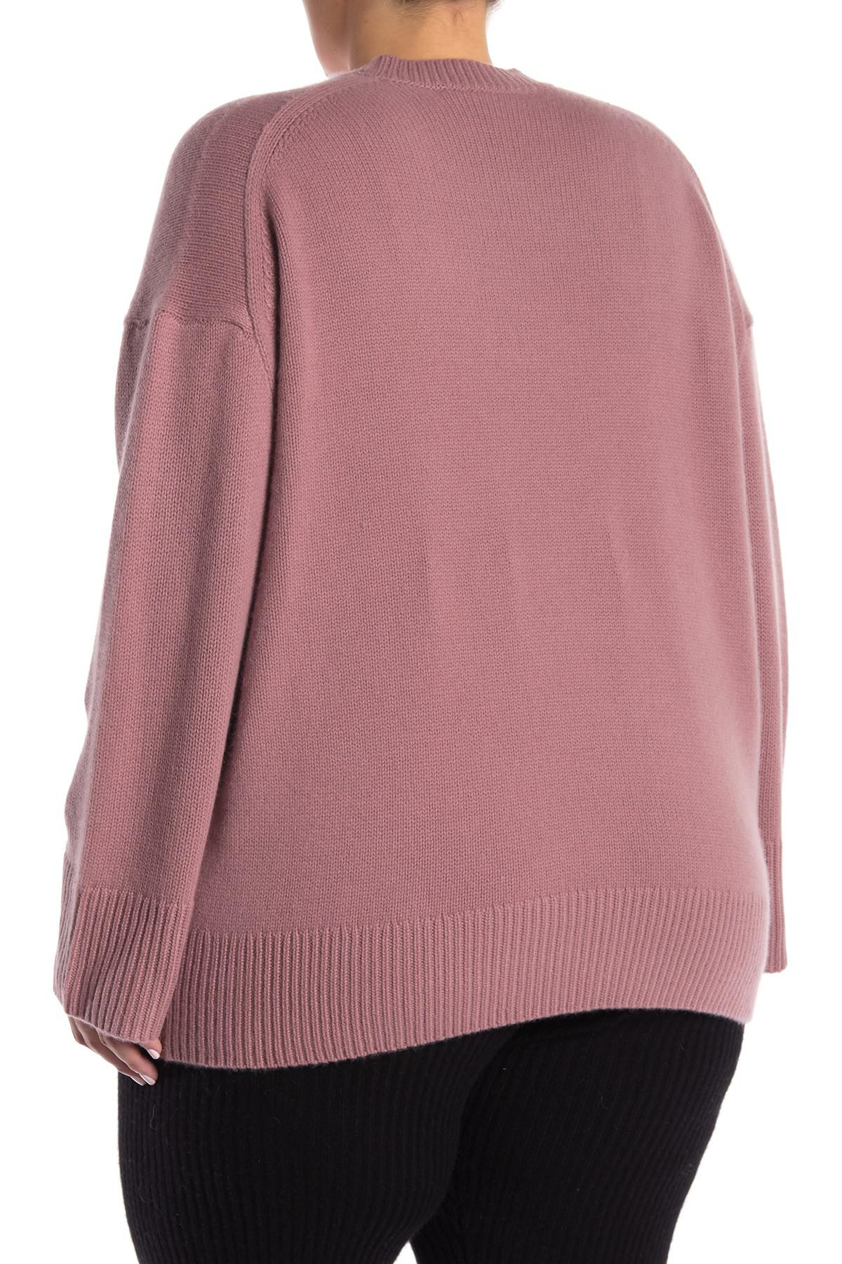 d436208e0ea Naked Cashmere - Pink Holliday Cashmere Sweater (plus Size) - Lyst. View  fullscreen