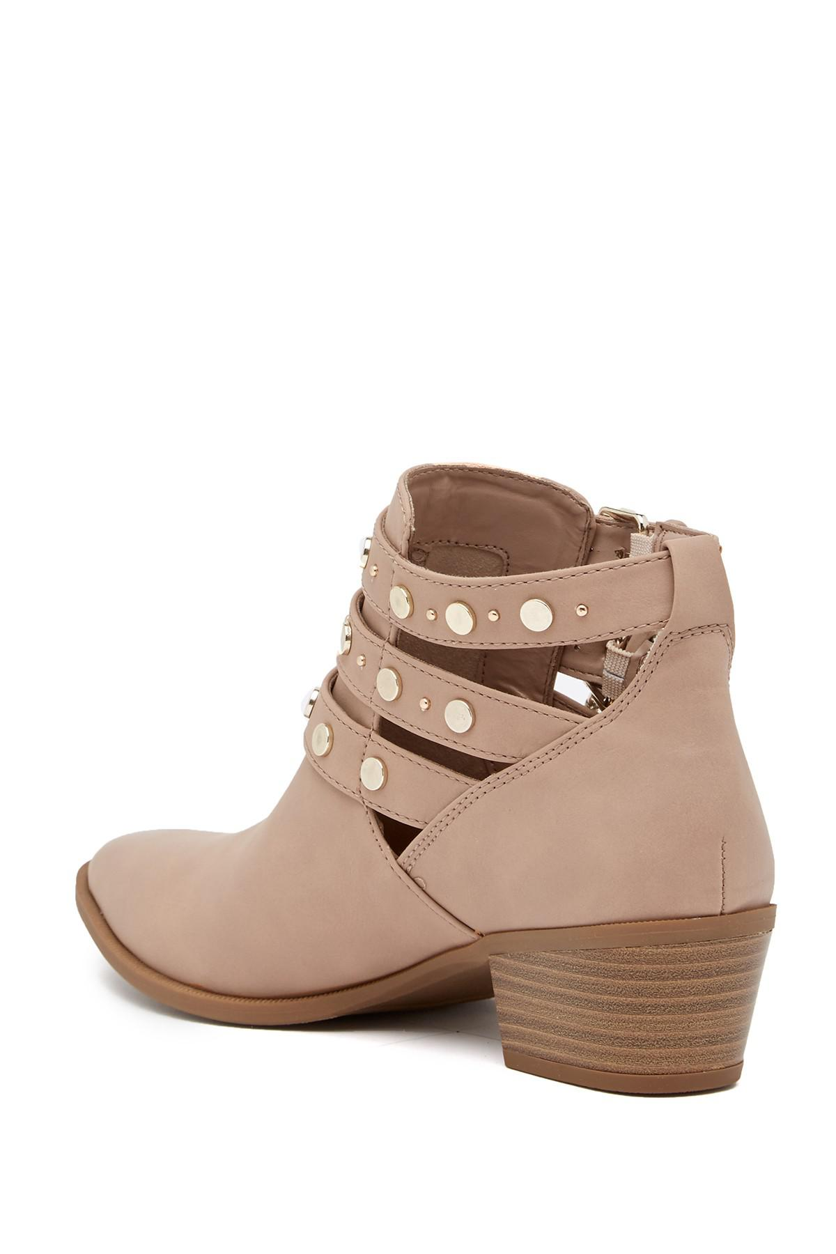39b31c50a99c Lyst - Circus by Sam Edelman Henna Bootie in Brown