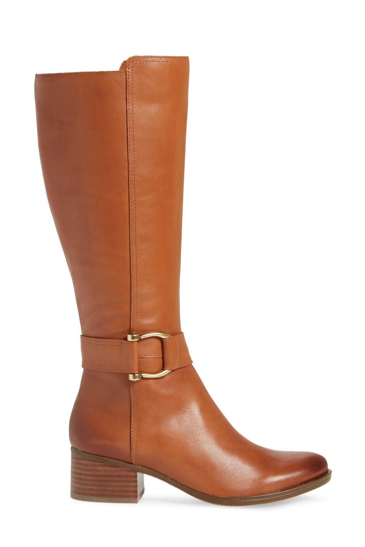 7fbdd606d91c Lyst - Naturalizer Dempsey Boot (women) (regular   Wide Calf) in Brown