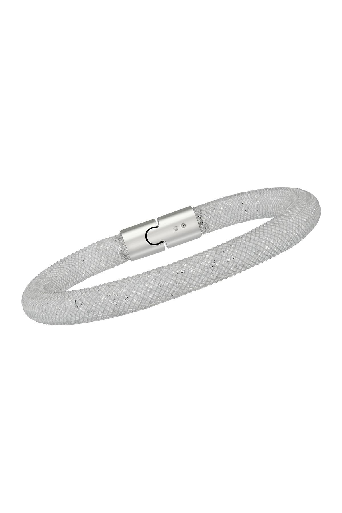 Stardust Crystal Filled Mesh Bracelet - Set Of 2