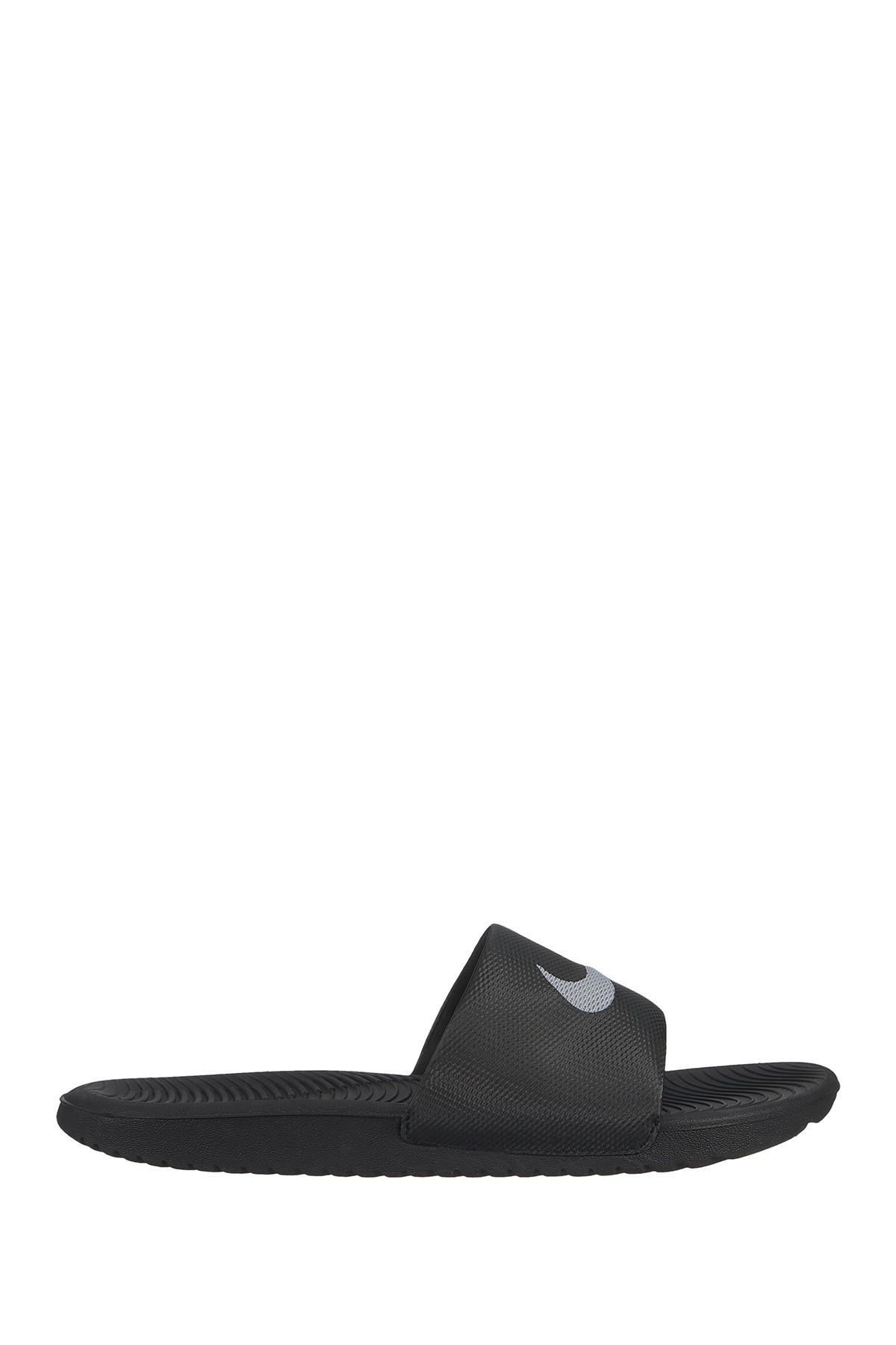 40c82f26781e Lyst - Nike Kawa Slide Sandal in Black