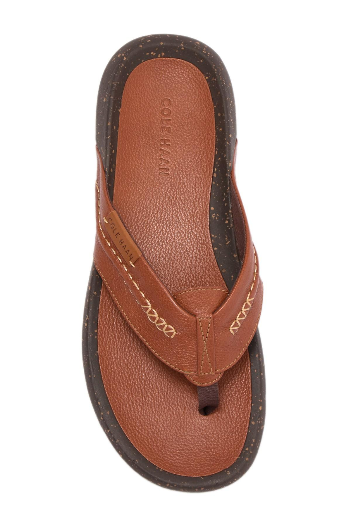 62a41095ef Cole Haan Brady Thong Sandal for Men - Lyst