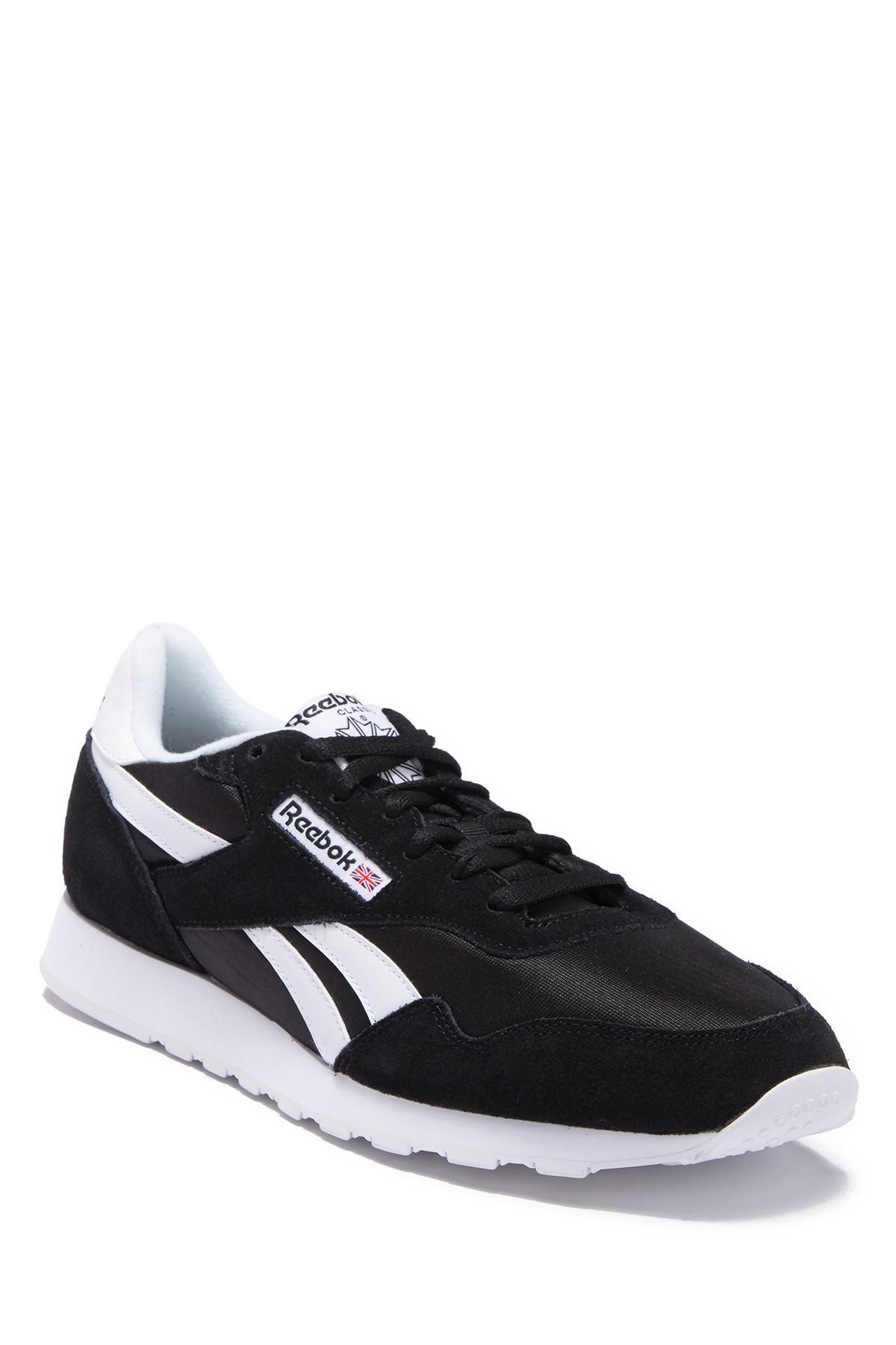 11d650015b78 Reebok - Black Royal Nylon Sneaker for Men - Lyst. View fullscreen