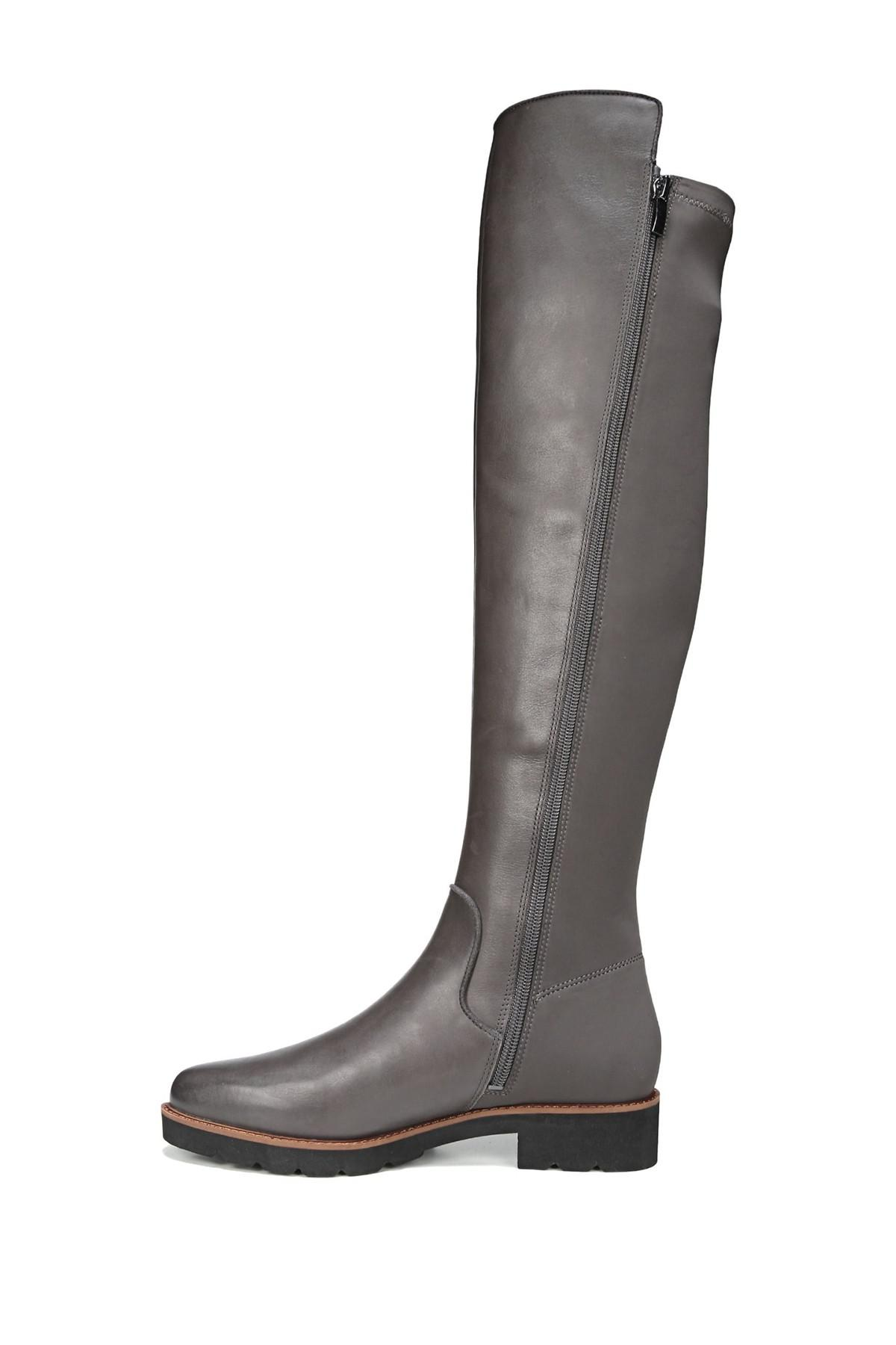 0a4252e8504 Franco Sarto - Black Benner Leather Over-the-knee Boot - Lyst. View  fullscreen
