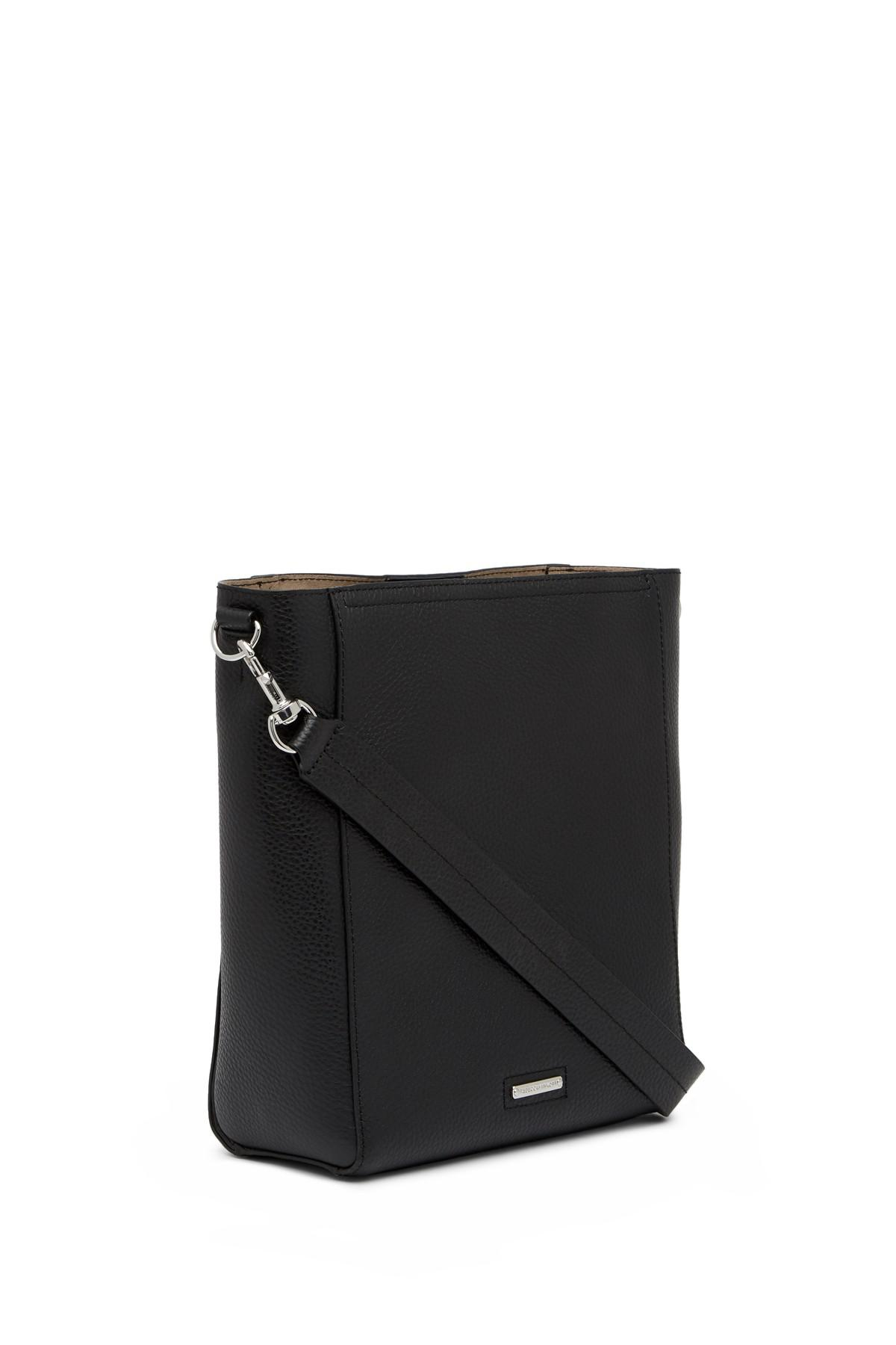 5b1a6c5669d5 Rebecca Minkoff Black Madison Large Leather Hobo Bag