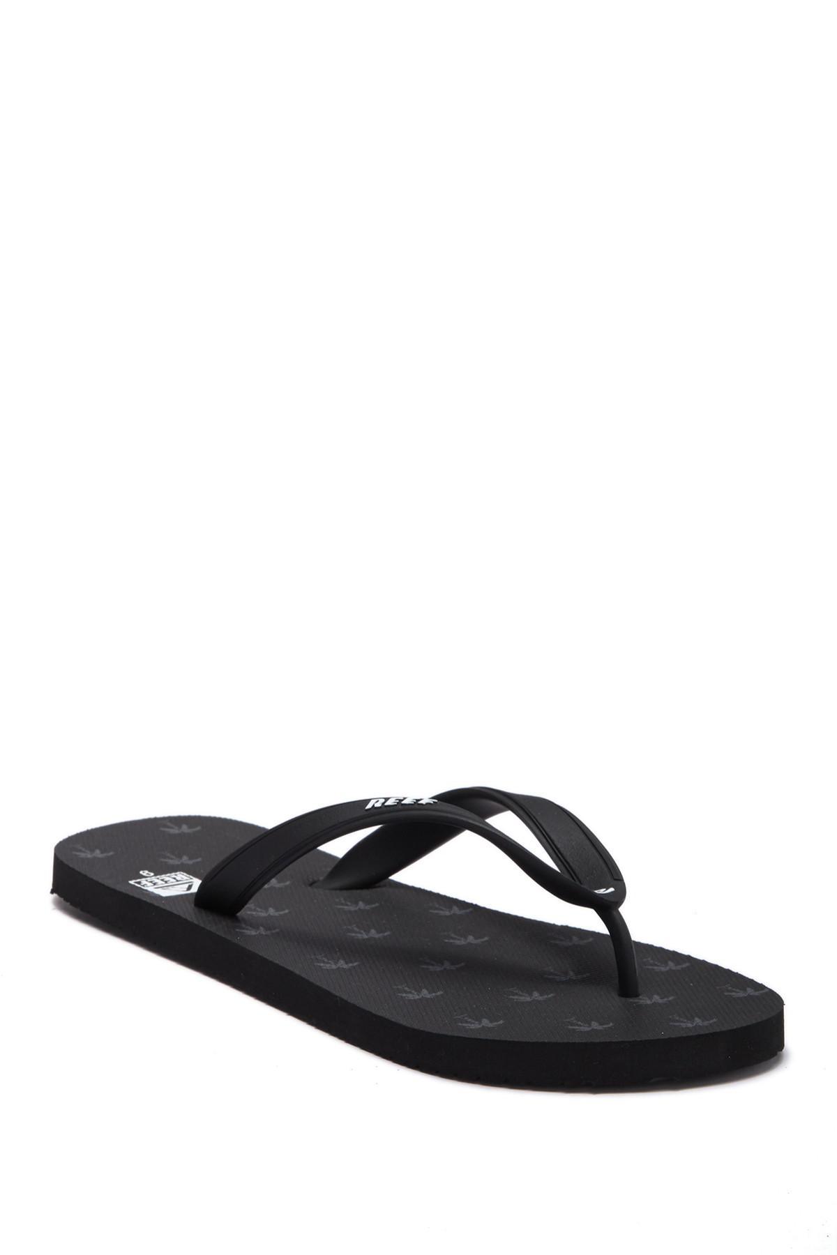 339dd937f685 Lyst - Reef Switchfoot Print Flip Flop in Black for Men
