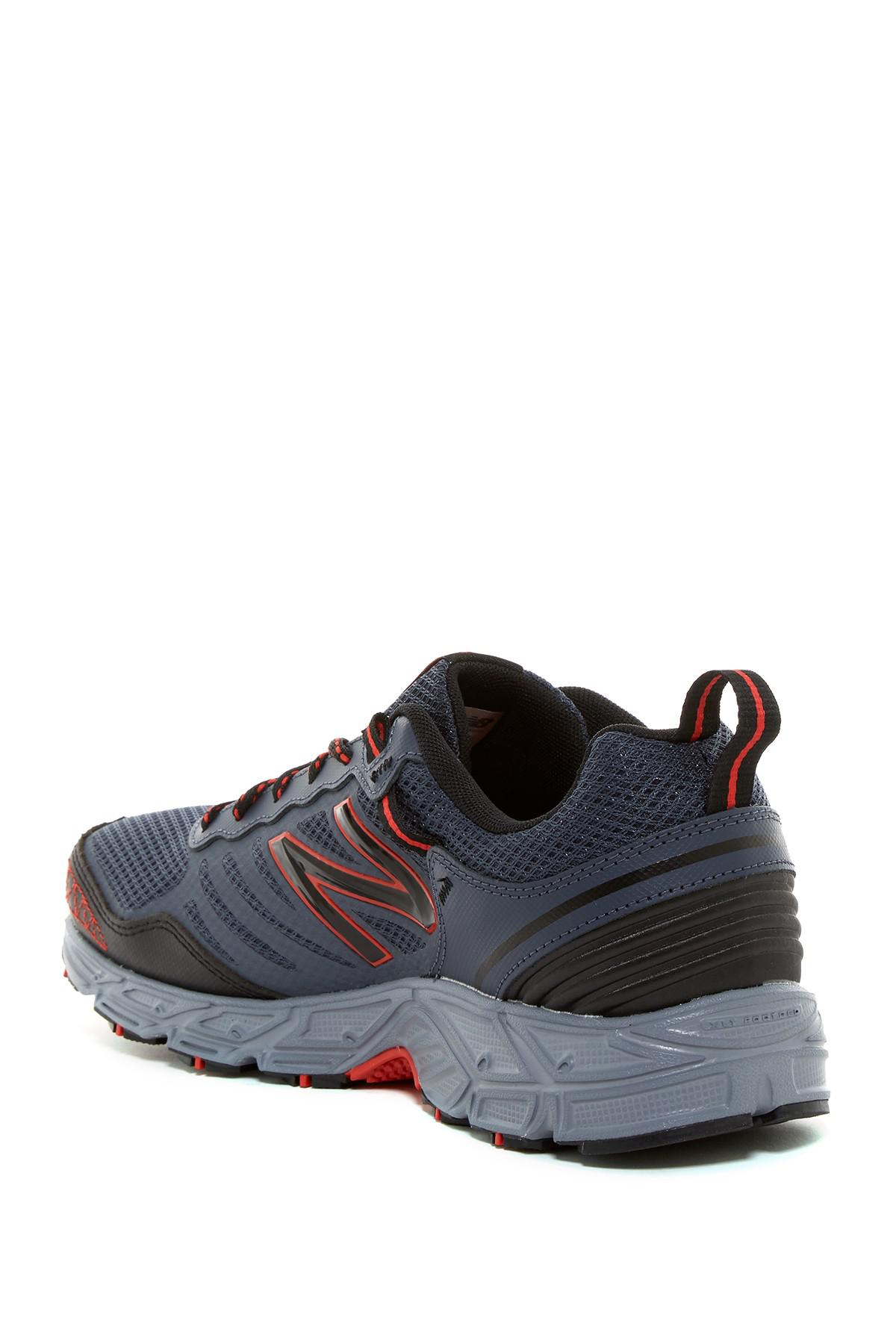 Lyst - New Balance Lonoke Trail Running Sneaker in Gray for Men